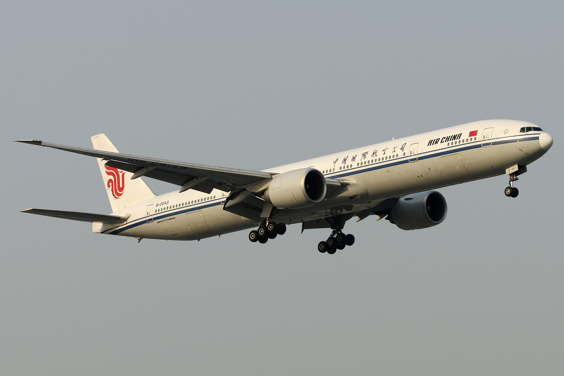 Re:[原创][原创]【SHA拍机*1800大图】4月拍的了,记得那天好货还挺多 BOEING 777-300ER B-2043 中国上海虹桥国际机场