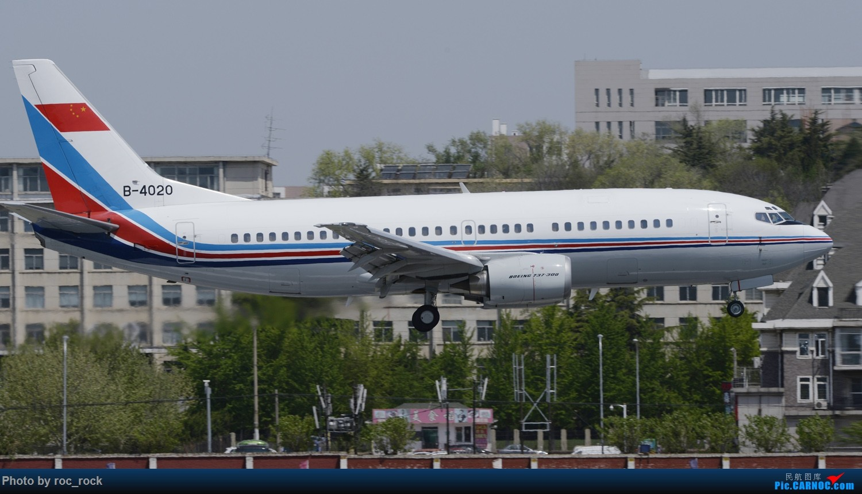 [原创]谁说737-300退出中国了,这是哪个航的?联航? BOEING 737-300 B-4020 中国大连国际机场