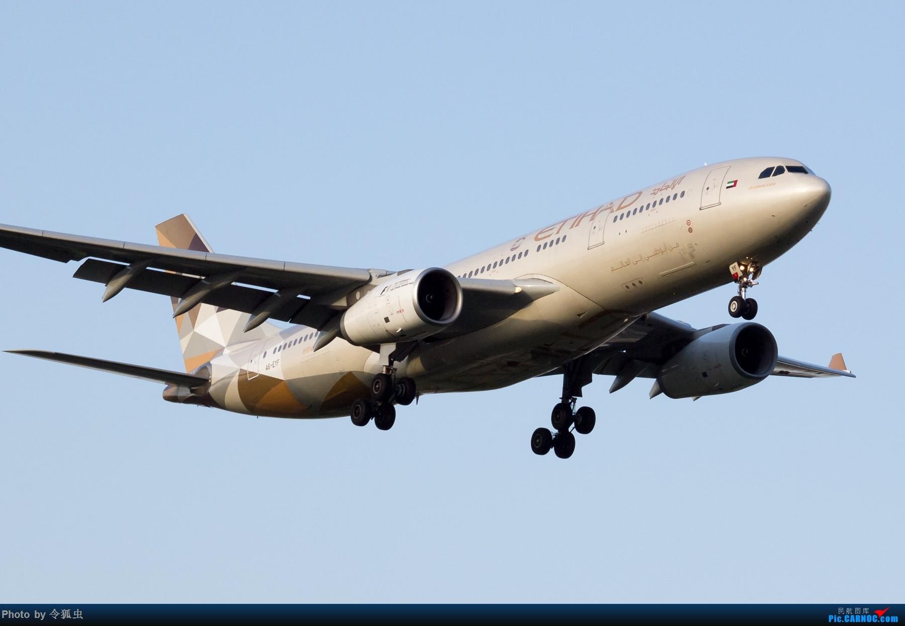 [原创]【CTU】阿提哈德A6-EYF_A332余晖降落 AIRBUS A330-200 A6-EYF 中国成都双流国际机场