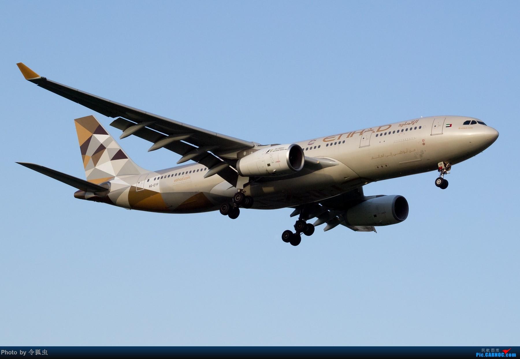 Re:[原创]【CTU】阿提哈德A6-EYF_A332余晖降落 AIRBUS A330-200 A6-EYF 中国成都双流国际机场