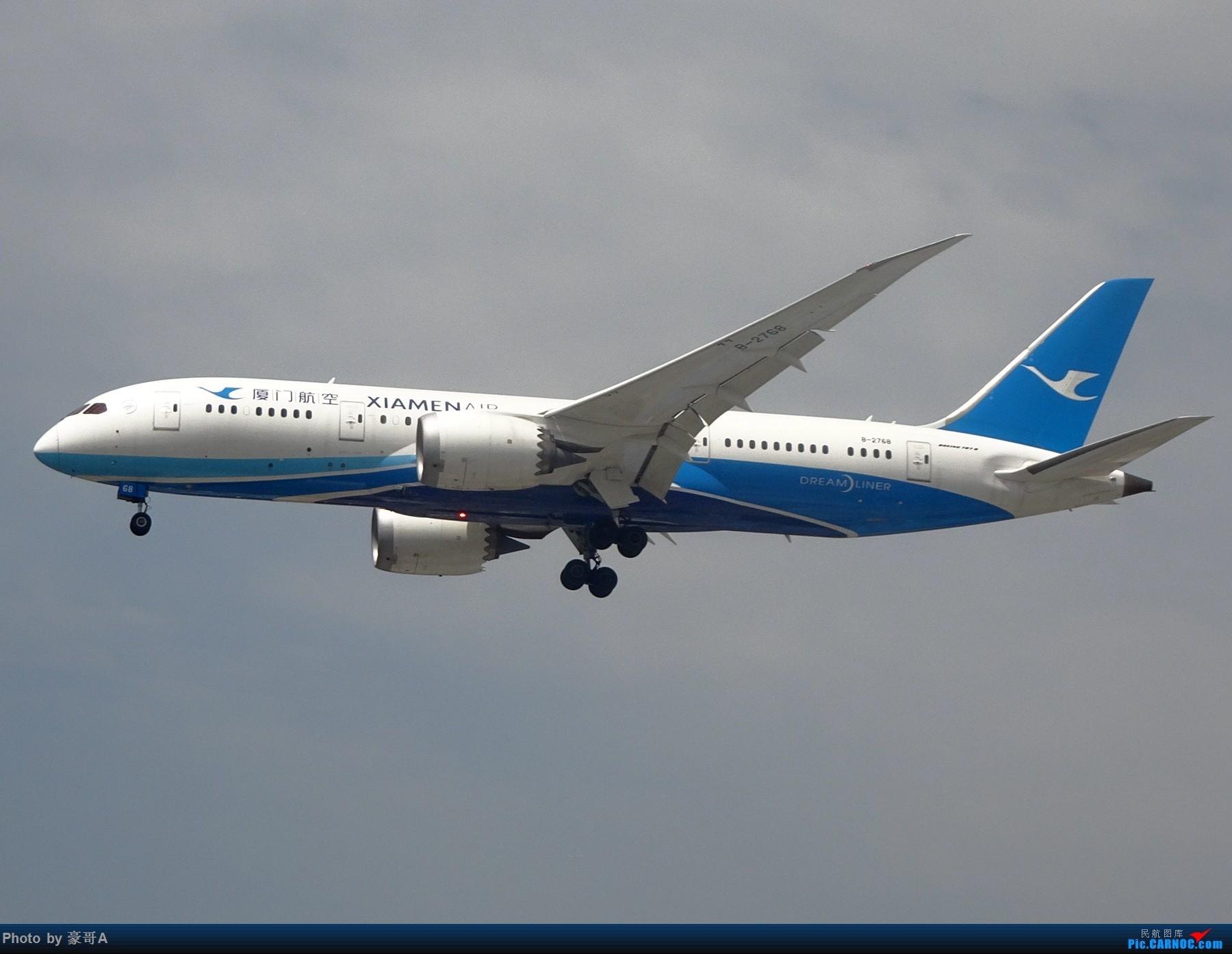 Re:[原创]SHA天气越来越烂 BOEING 787-8 B-2768 中国上海虹桥国际机场