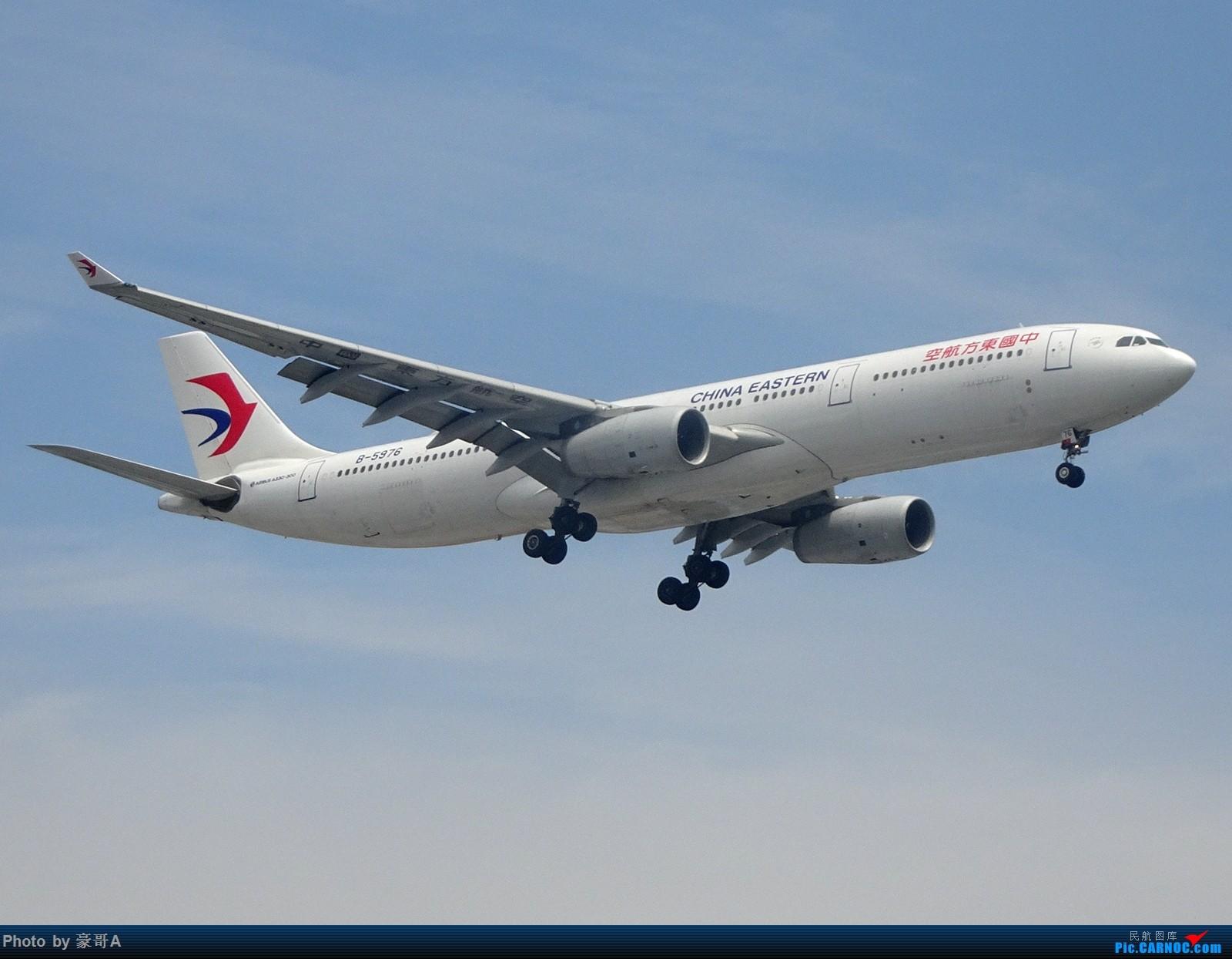 Re:[原创]SHA天气越来越烂 AIRBUS A330-300 B-5976 中国上海虹桥国际机场