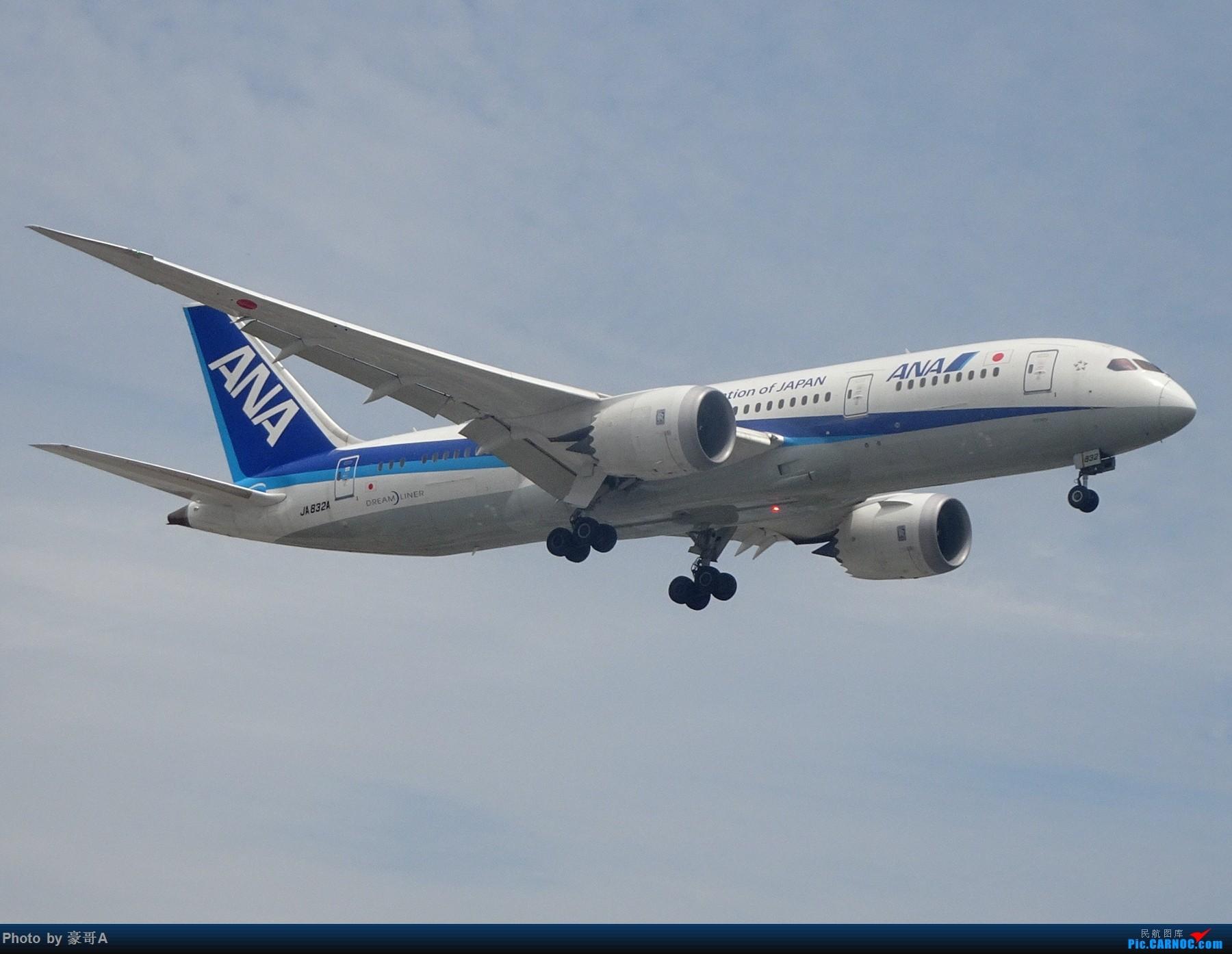 Re:[原创]SHA天气越来越烂 BOEING 787-8 JA832A 中国上海虹桥国际机场