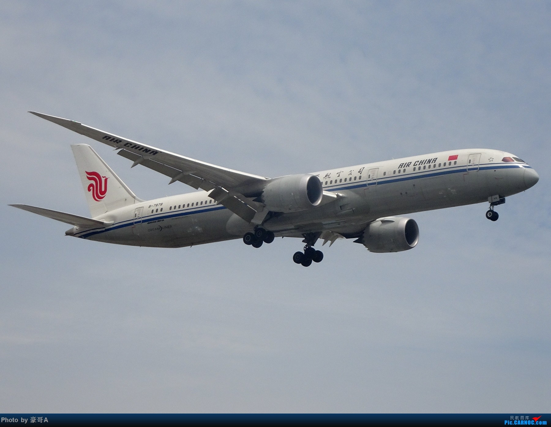 Re:[原创]SHA天气越来越烂 BOEING 787-9 B-7878 中国上海虹桥国际机场