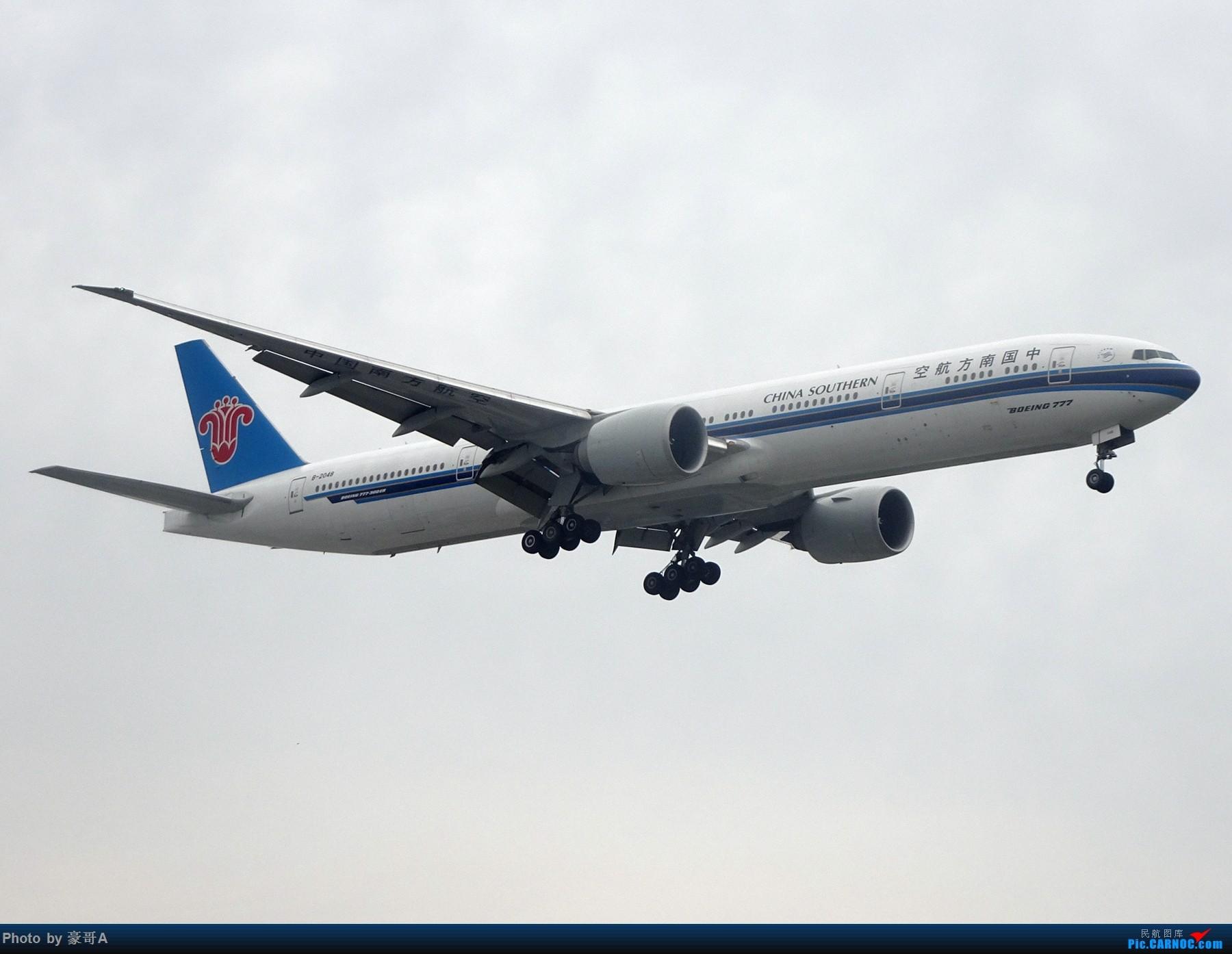 Re:[原创]SHA天气越来越烂 BOEING 777-300ER B-2408 中国上海虹桥国际机场
