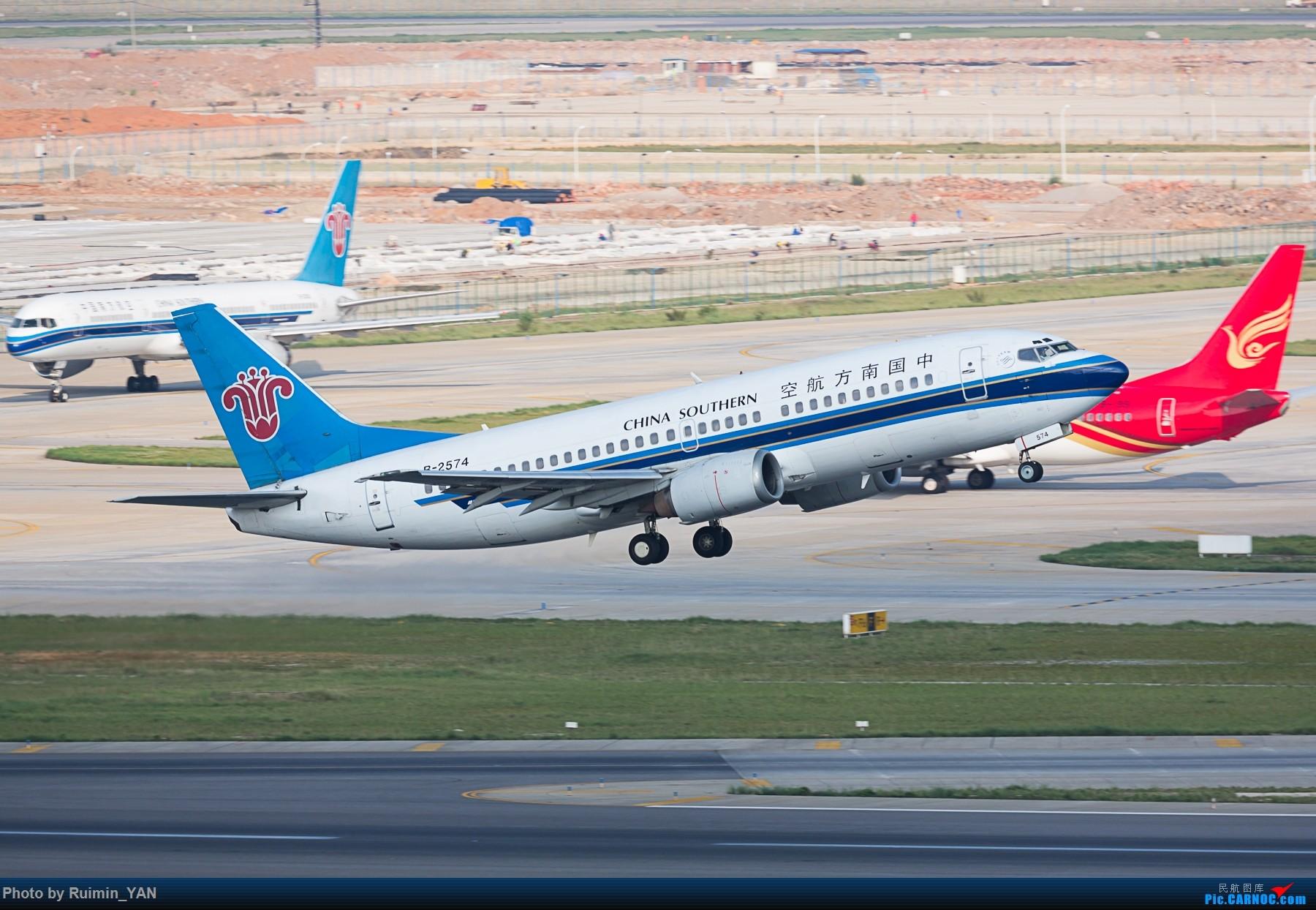 Re:[原创]【KMG】【起飞】告别 南航(CZ) B-2574 B733 BOEING 737-300 B-2574 中国昆明长水国际机场