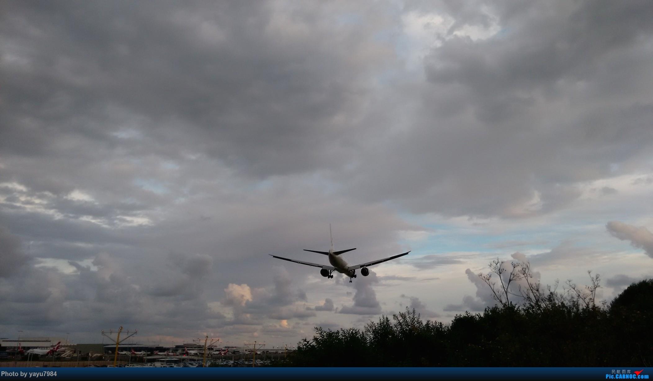 Re:[SYD]探访16R北端 BOEING 777-300ER 9V-SWJ 澳大利亚悉尼金斯福德·史密斯机场