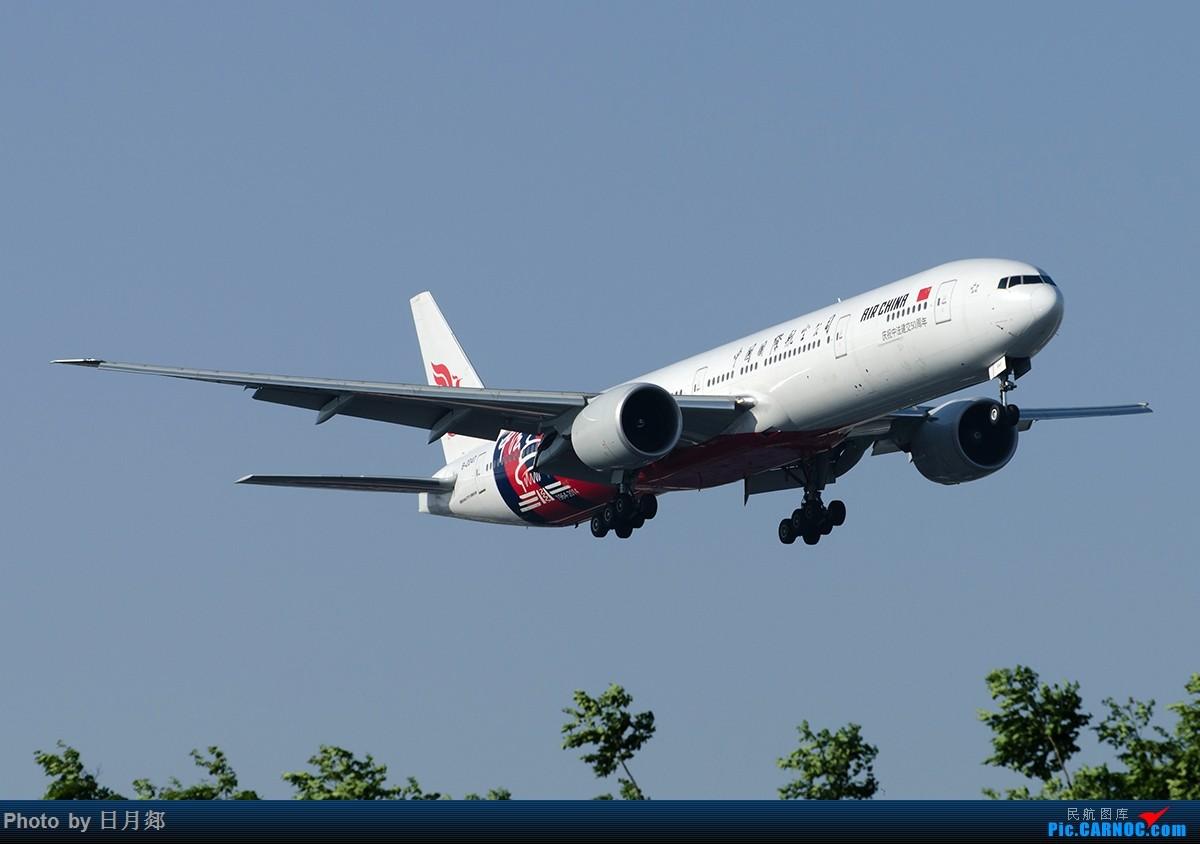 [原创][原创]【SHA拍机*1800大图】多图一机,中法50年 BOEING 777-300ER B-2047 中国上海虹桥国际机场