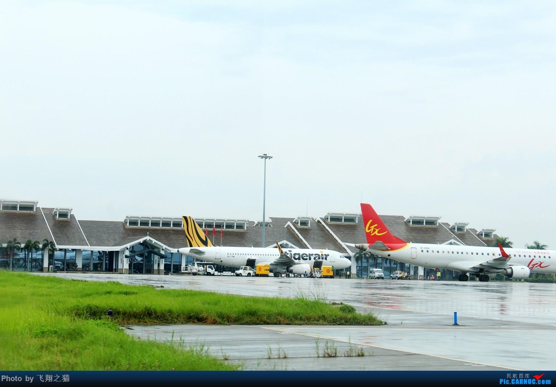 Re:[原创]飞翔之猫的海航787初体验(空中俯瞰CKGT3,重庆海口一日往返空中之旅) BOEING 787-8  海口美兰机场