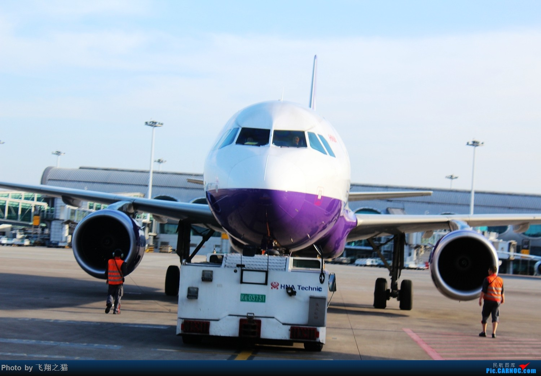 Re:[原创]飞翔之猫的海航787初体验(空中俯瞰CKGT3,重庆海口一日往返空中之旅) AIRBUS A320-200  重庆江北国际机场