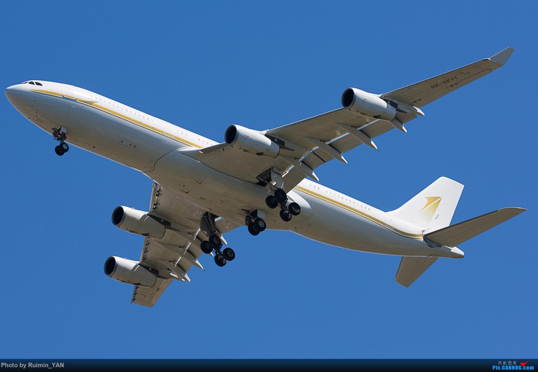 [原创]【PEK】【砖机】沙特王储继承人穆罕默德访华 随行砖机 Sky Prime HZ-SKY1 B342 AIRBUS A340-200 HZ-SKY1 中国北京首都国际机场