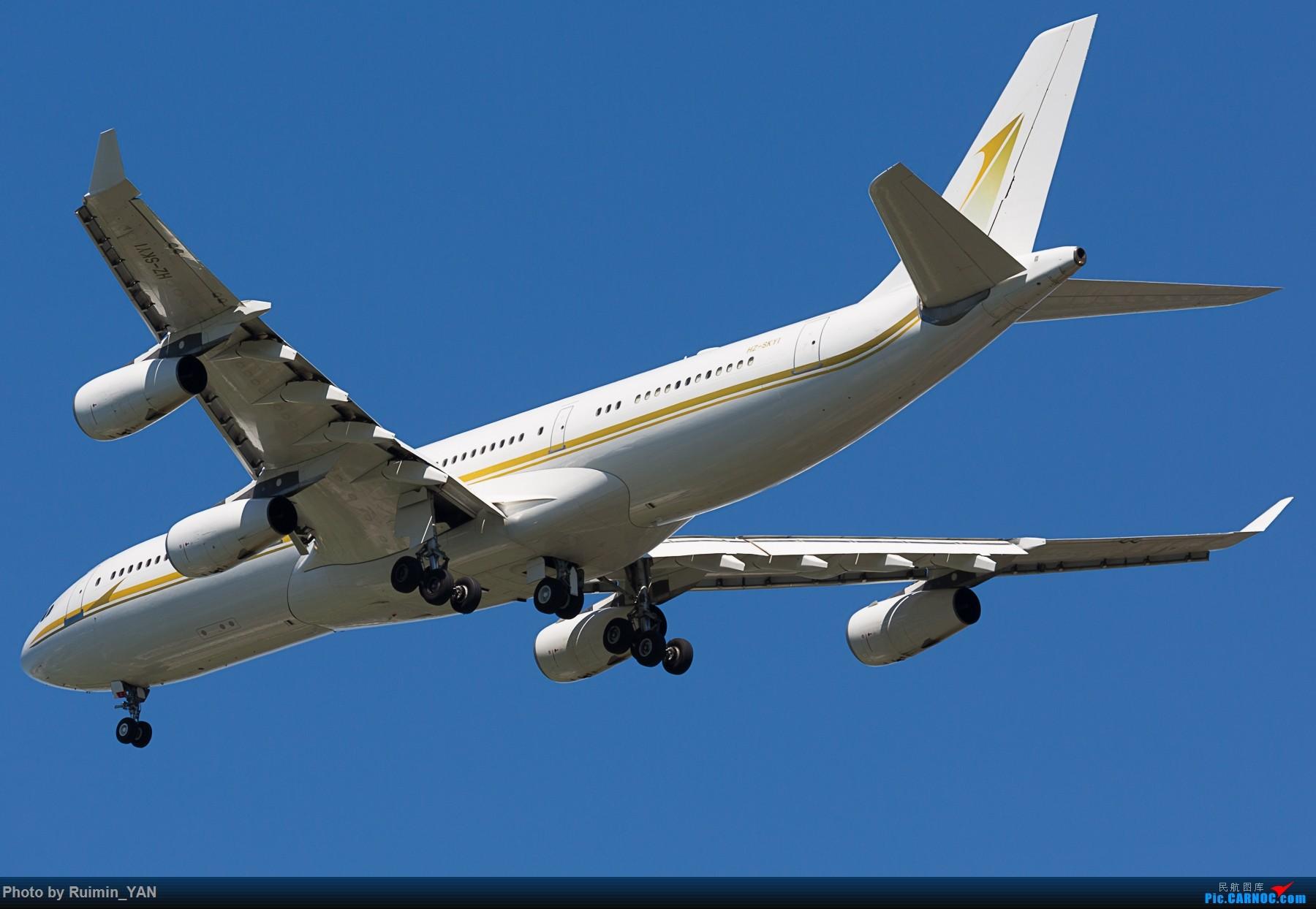 Re:[原创]【PEK】【砖机】沙特王储继承人穆罕默德访华 随行砖机 Sky Prime B342 AIRBUS A340-200 HZ-SKY1 中国北京首都国际机场