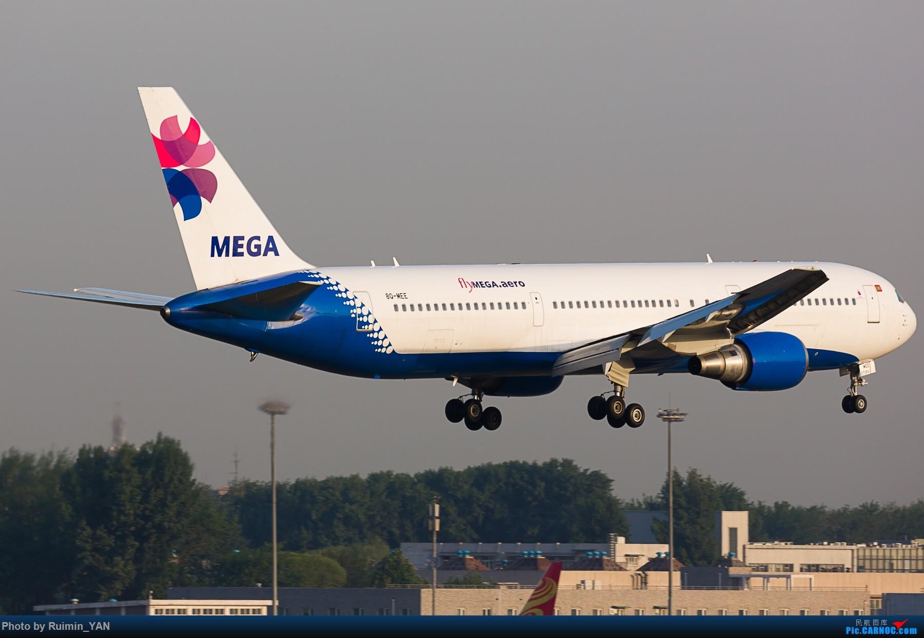 Re:【PEK】【彩绘】马尔代夫美佳航空(LV, Mega Global Air)因重组暂停中国航线 flyMEGA.aero 8Q-MEE B763 BOEING 767-300ER 8Q-MEE 中国北京首都国际机场