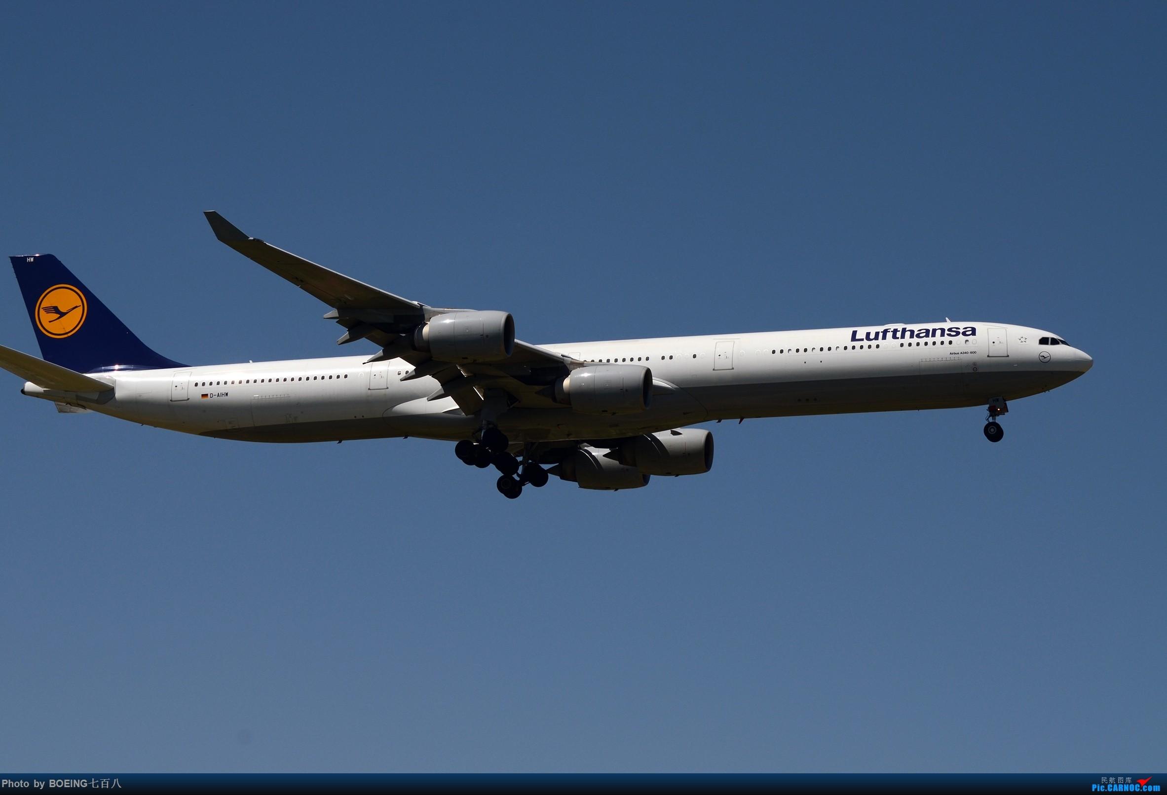 Re:[原创]好久没发作业了,5月13日的PEK AIRBUS A340-600 D-AIHW PEK