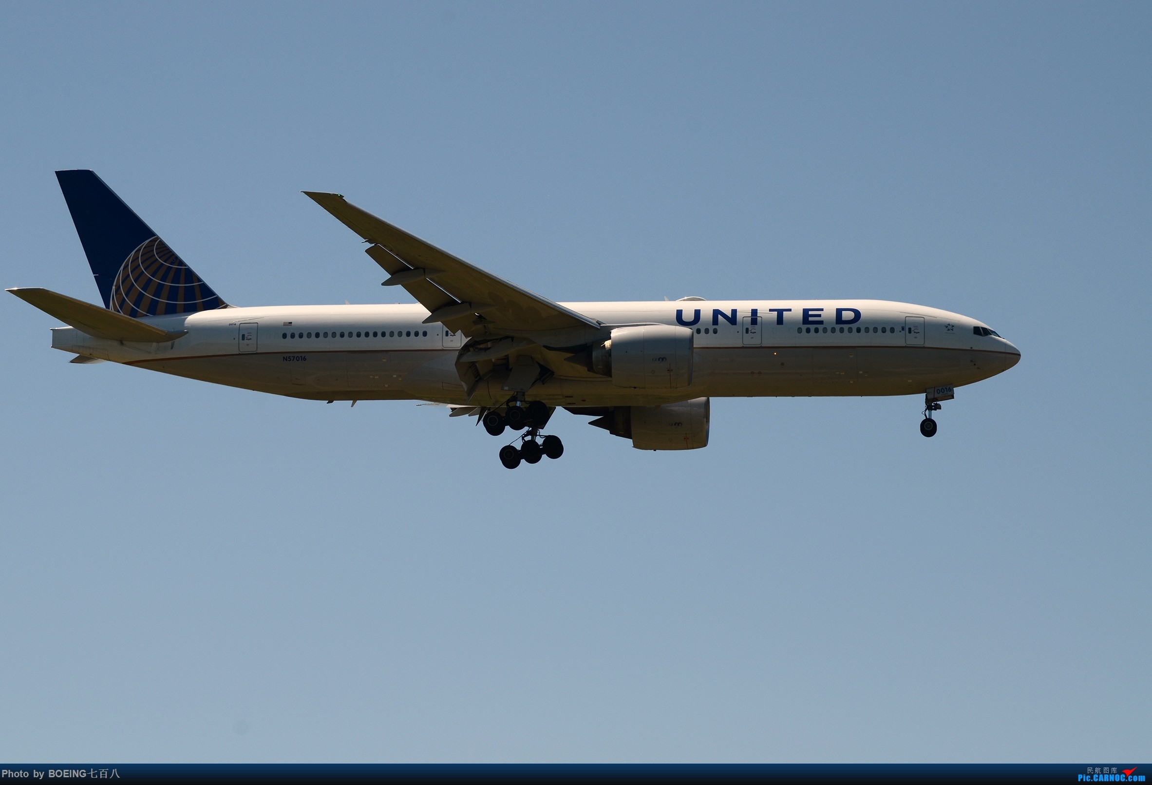 Re:[原创]好久没发作业了,5月13日的PEK BOEING 777-200 N57016 中国北京首都国际机场