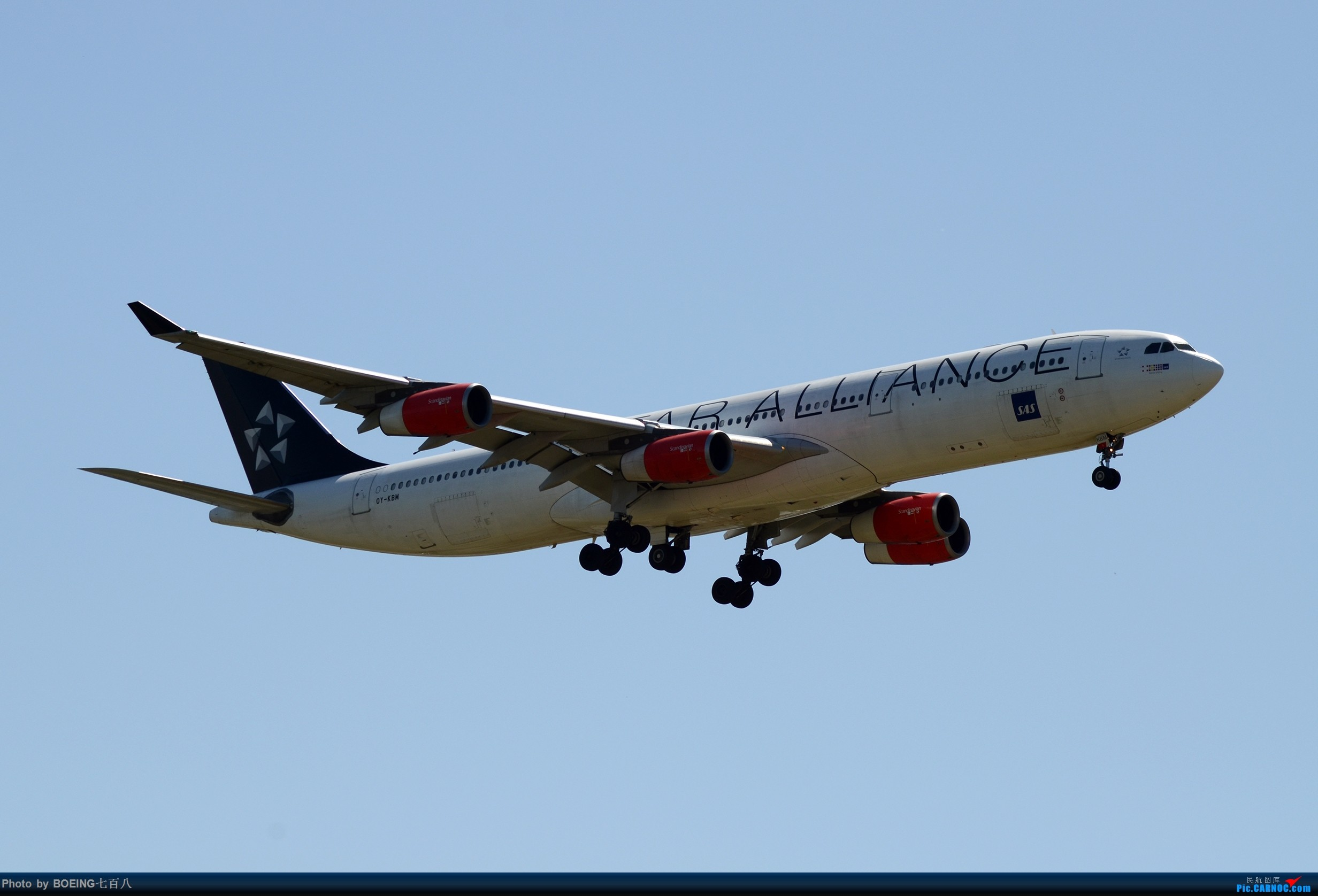 Re:[原创]好久没发作业了,5月13日的PEK AIRBUS A340-300 OY-KBM 中国北京首都国际机场