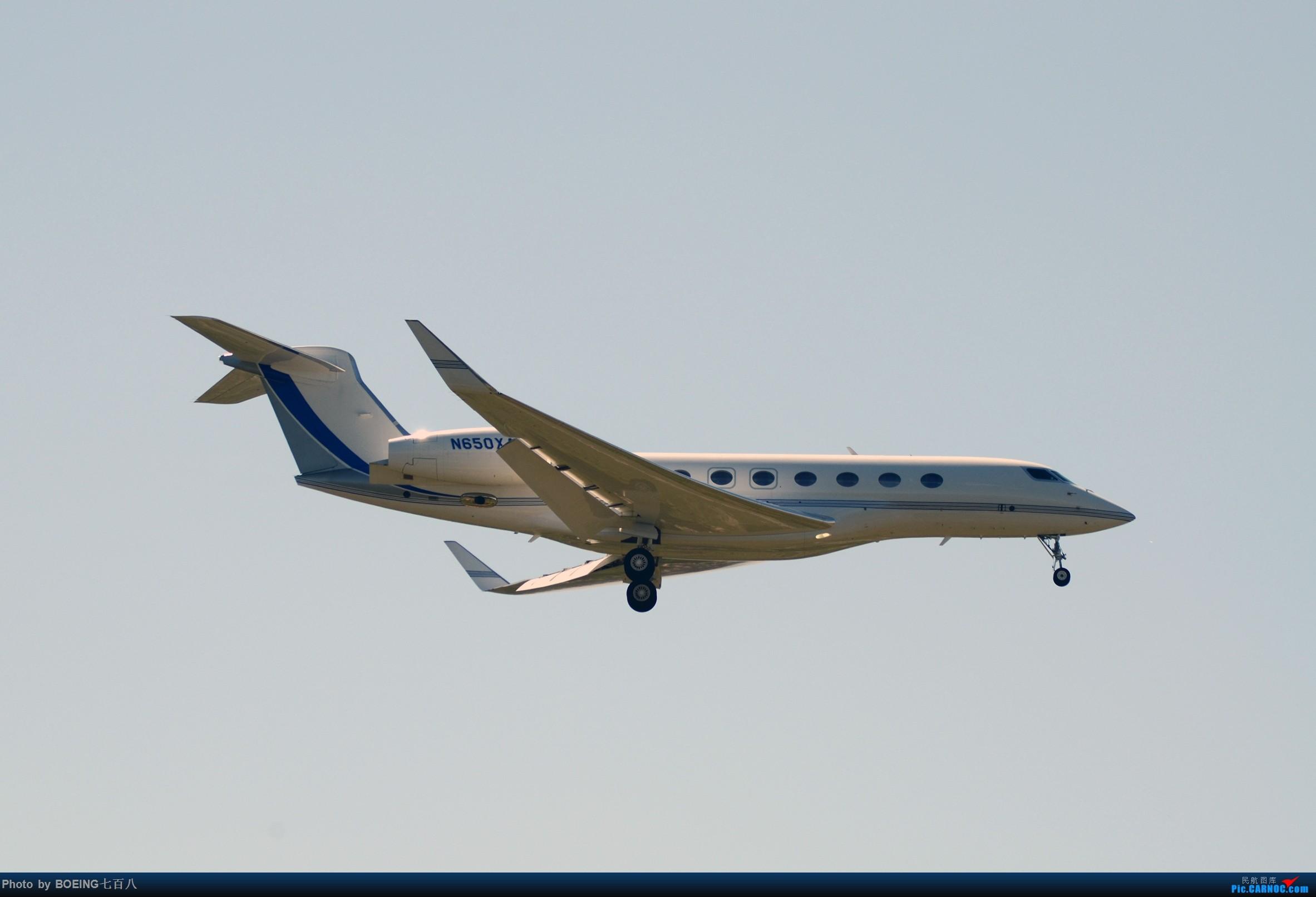 Re:[原创]好久没发作业了,5月13日的PEK GULFSTREAM G550 N650XA 中国北京首都国际机场