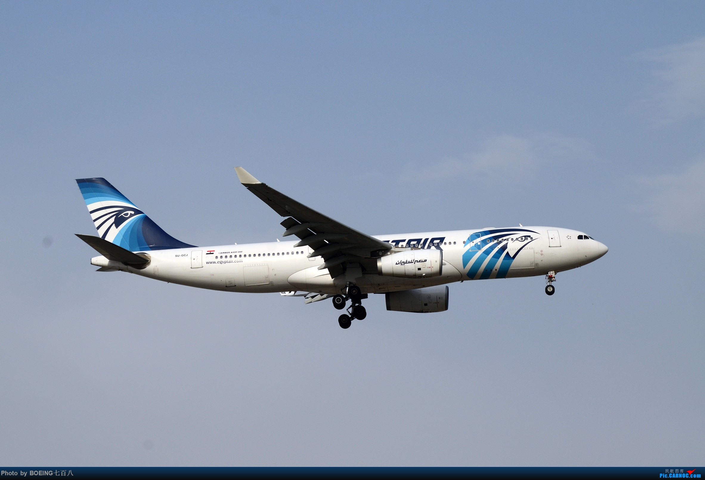 Re:[原创]好久没发作业了,5月13日的PEK AIRBUS A330-200 SU-GCJ PEK