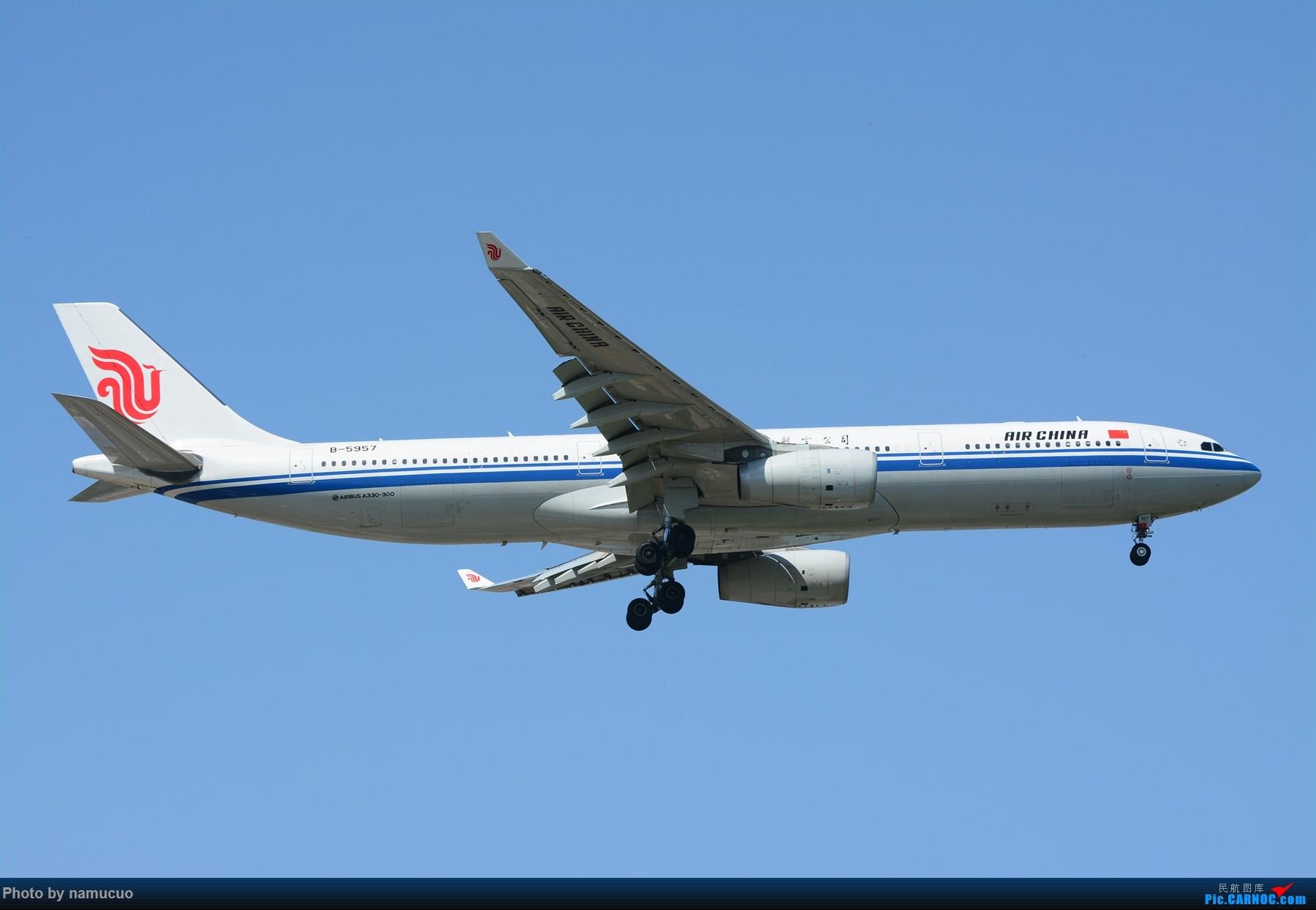 Re:[原创]【PEK】【多图】蓝天下的大飞机们,5.15跑遍首都三条跑道 AIRBUS A330-300 B-5957
