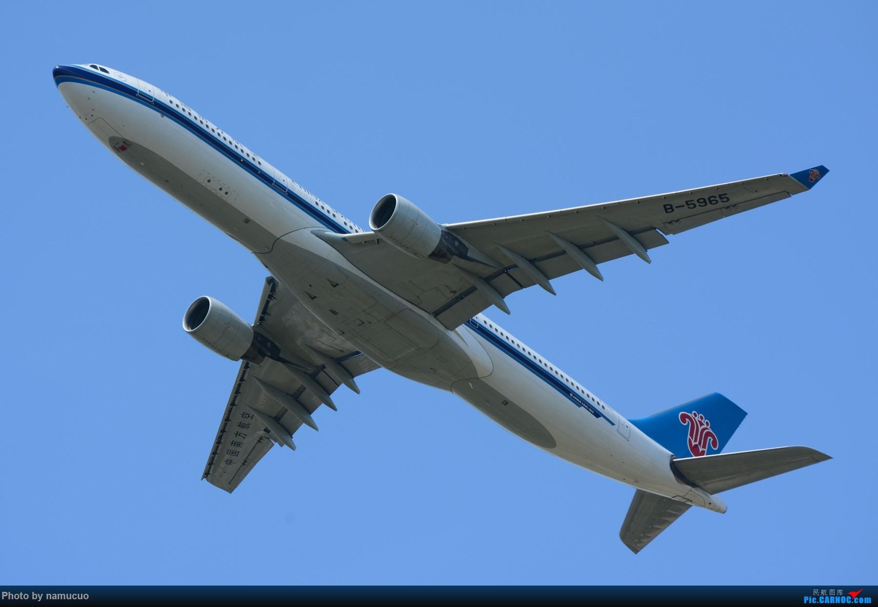Re:[原创]【PEK】【多图】蓝天下的大飞机们,5.15跑遍首都三条跑道 AIRBUS A330-300 B-5965