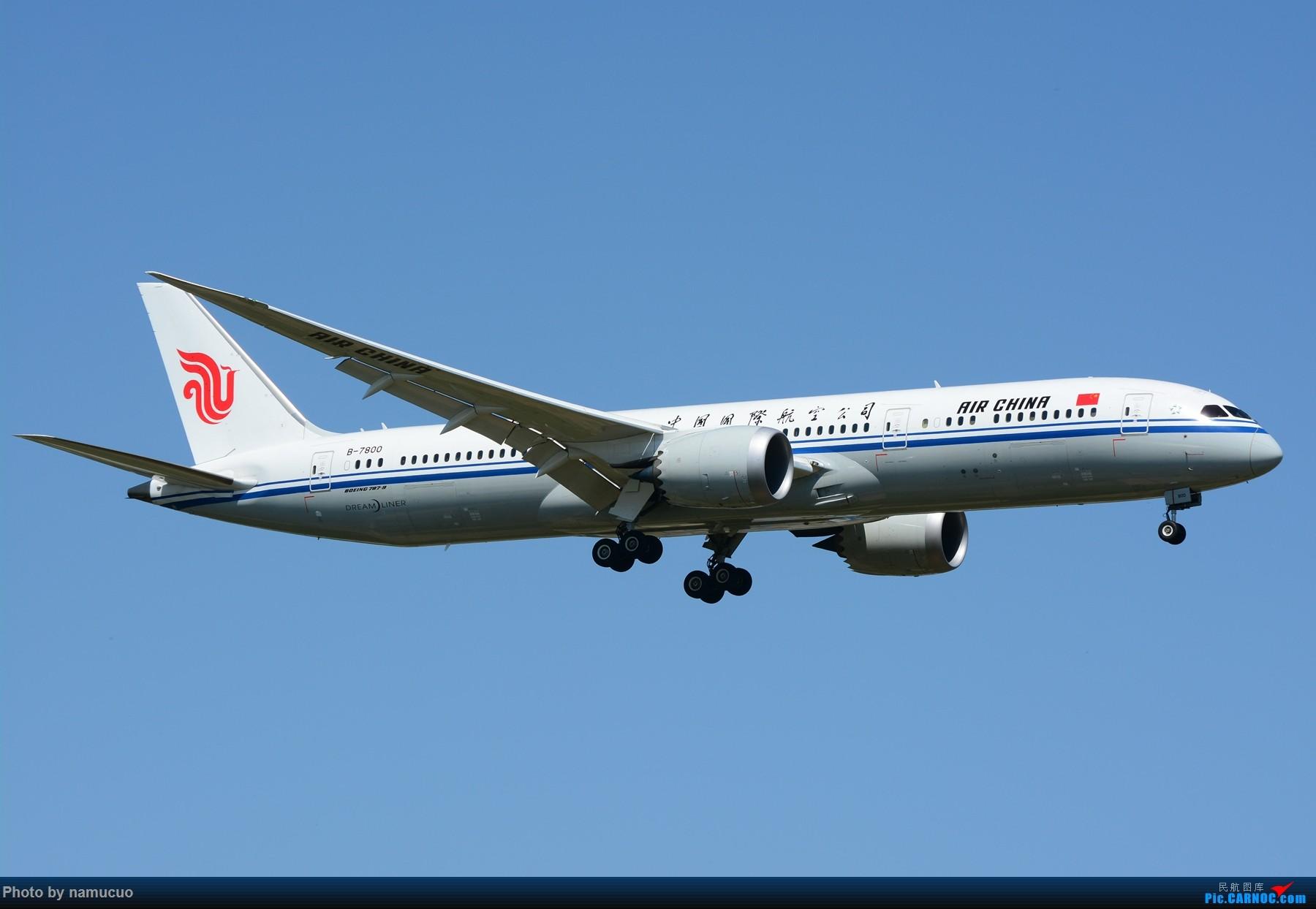 Re:[原创]【PEK】【多图】蓝天下的大飞机们,5.15跑遍首都三条跑道 BOEING 787-9 B-7800