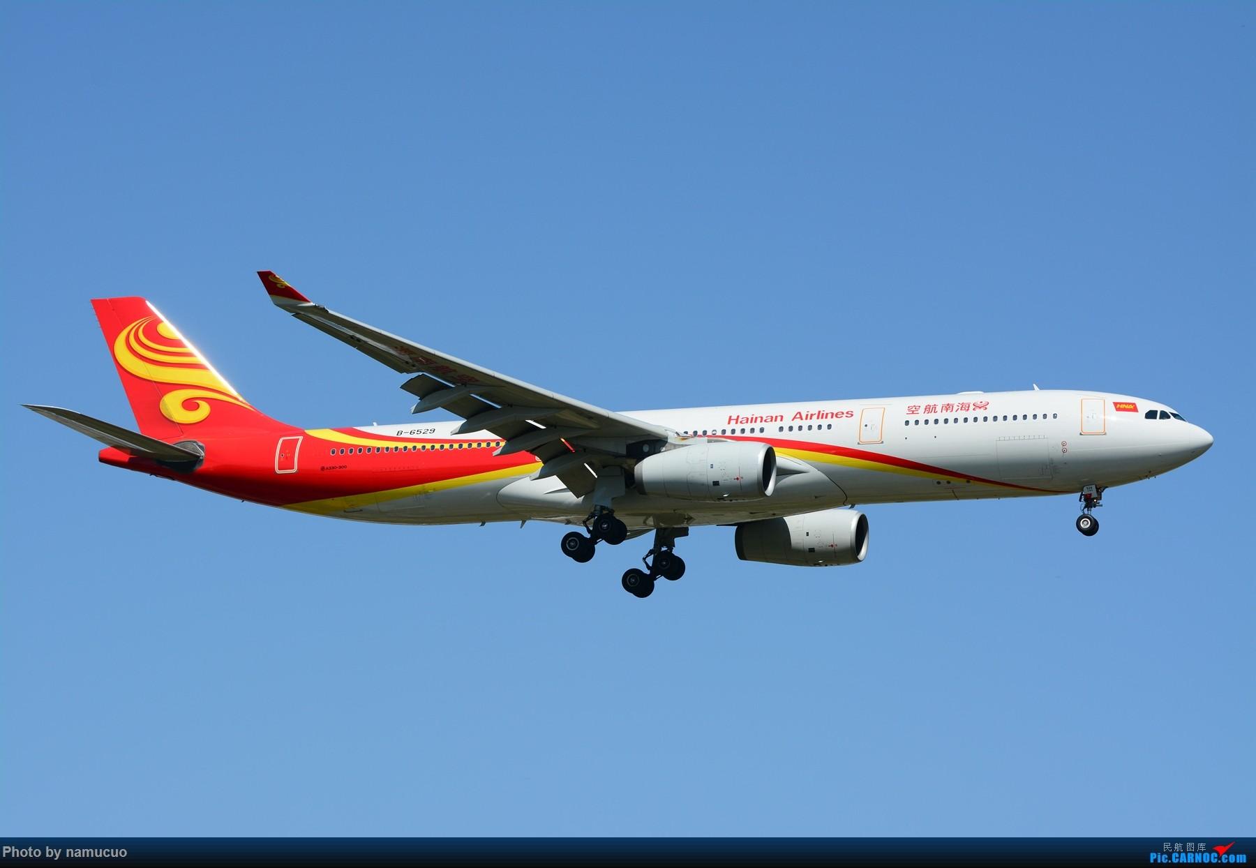 Re:[原创]【PEK】【多图】蓝天下的大飞机们,5.15跑遍首都三条跑道 AIRBUS A330-300 B-6529