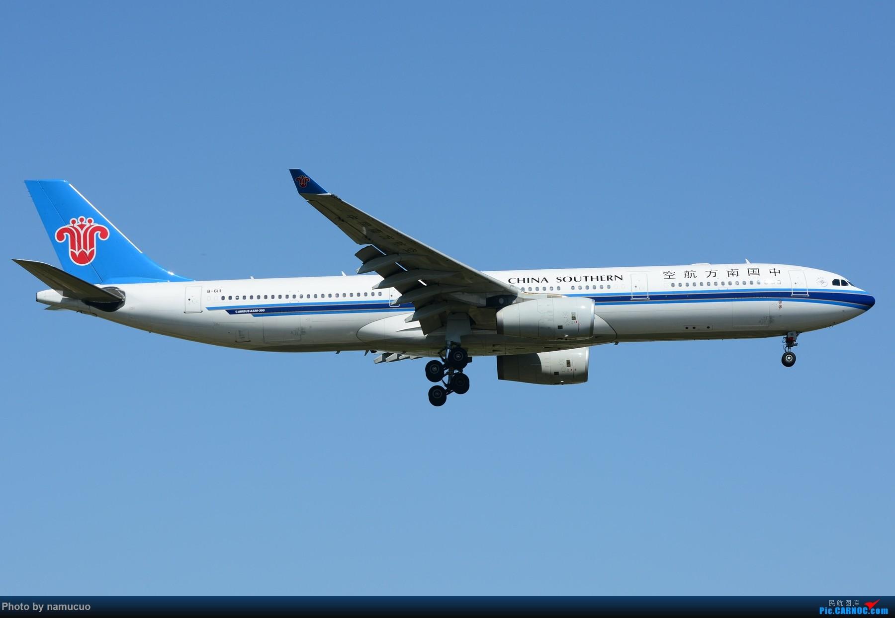 Re:[原创]【PEK】【多图】蓝天下的大飞机们,5.15跑遍首都三条跑道 AIRBUS A330-300 B-6111