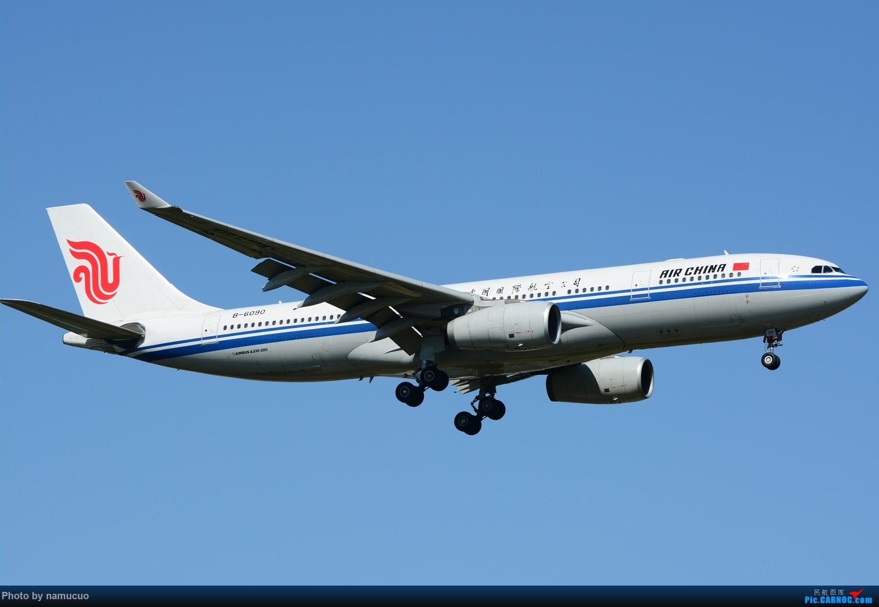 Re:[原创]【PEK】【多图】蓝天下的大飞机们,5.15跑遍首都三条跑道 AIRBUS A330-200 B-6090