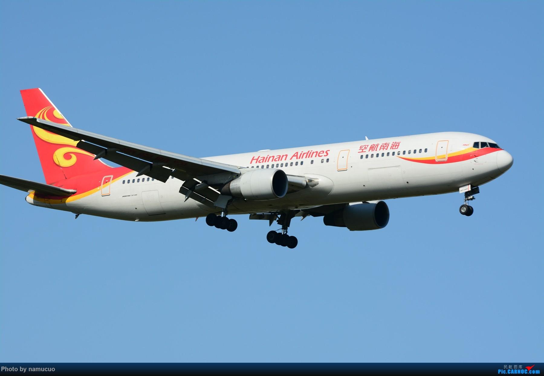 Re:[原创]【PEK】【多图】蓝天下的大飞机们,5.15跑遍首都三条跑道 BOEING 767-300 B-2490