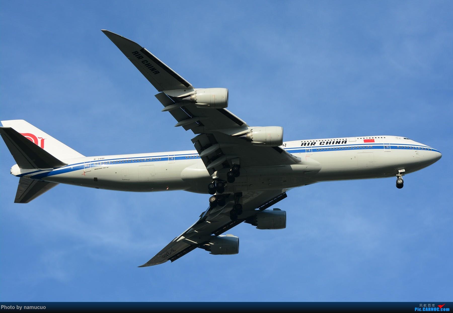 Re:[原创]【PEK】【多图】蓝天下的大飞机们,5.15跑遍首都三条跑道 BOEING 747-8I B-2481