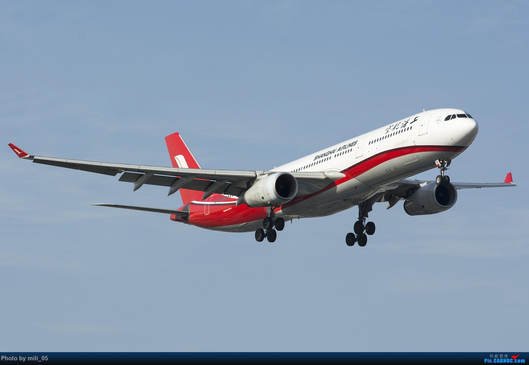 Re:[原创][SHA] A330飞机45度仰视系列 AIRBUS A330-300 B-6127 中国上海虹桥国际机场