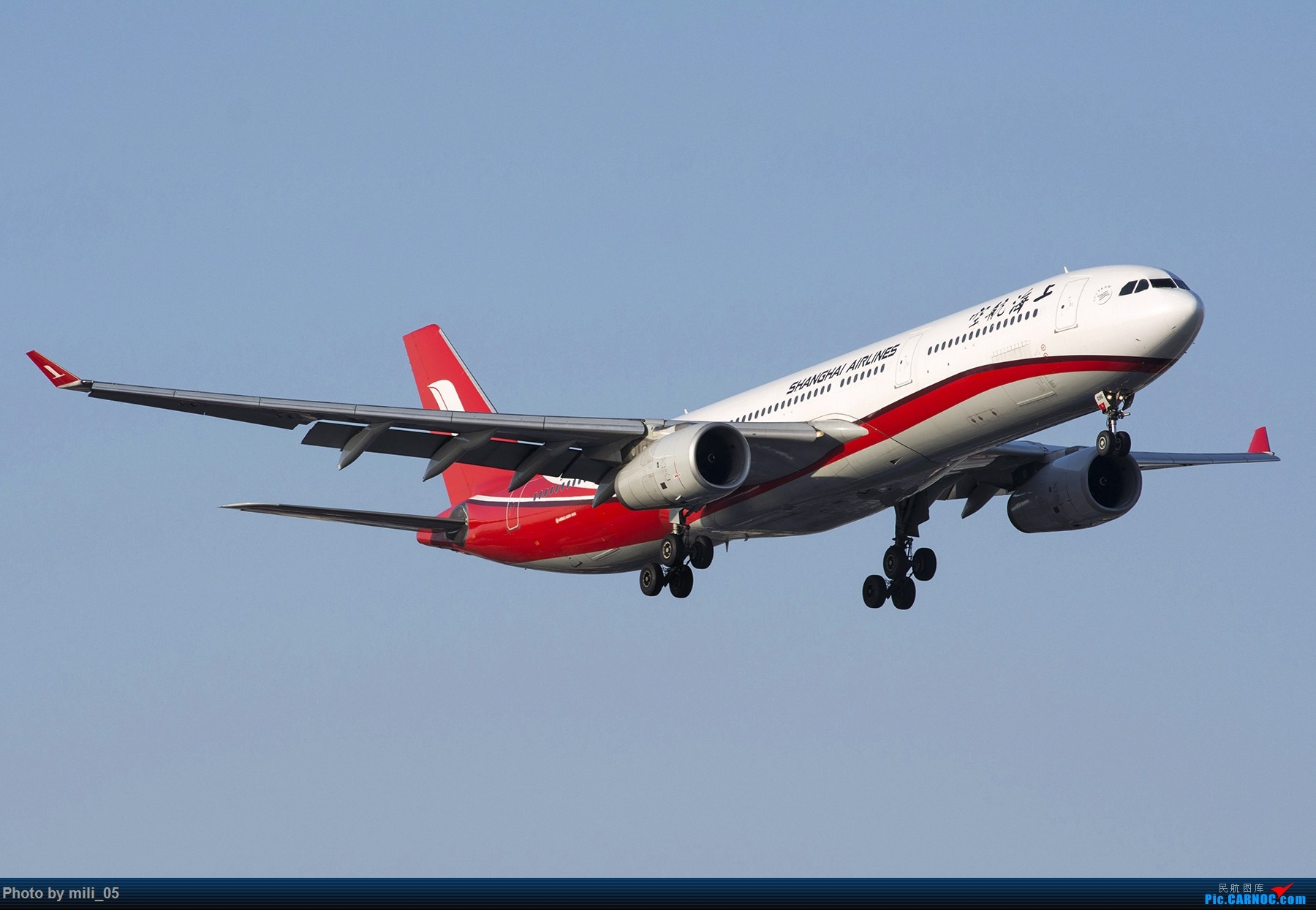 Re:[原创][SHA] A330飞机45度仰视系列 AIRBUS A330-300 B-6096 中国上海虹桥国际机场