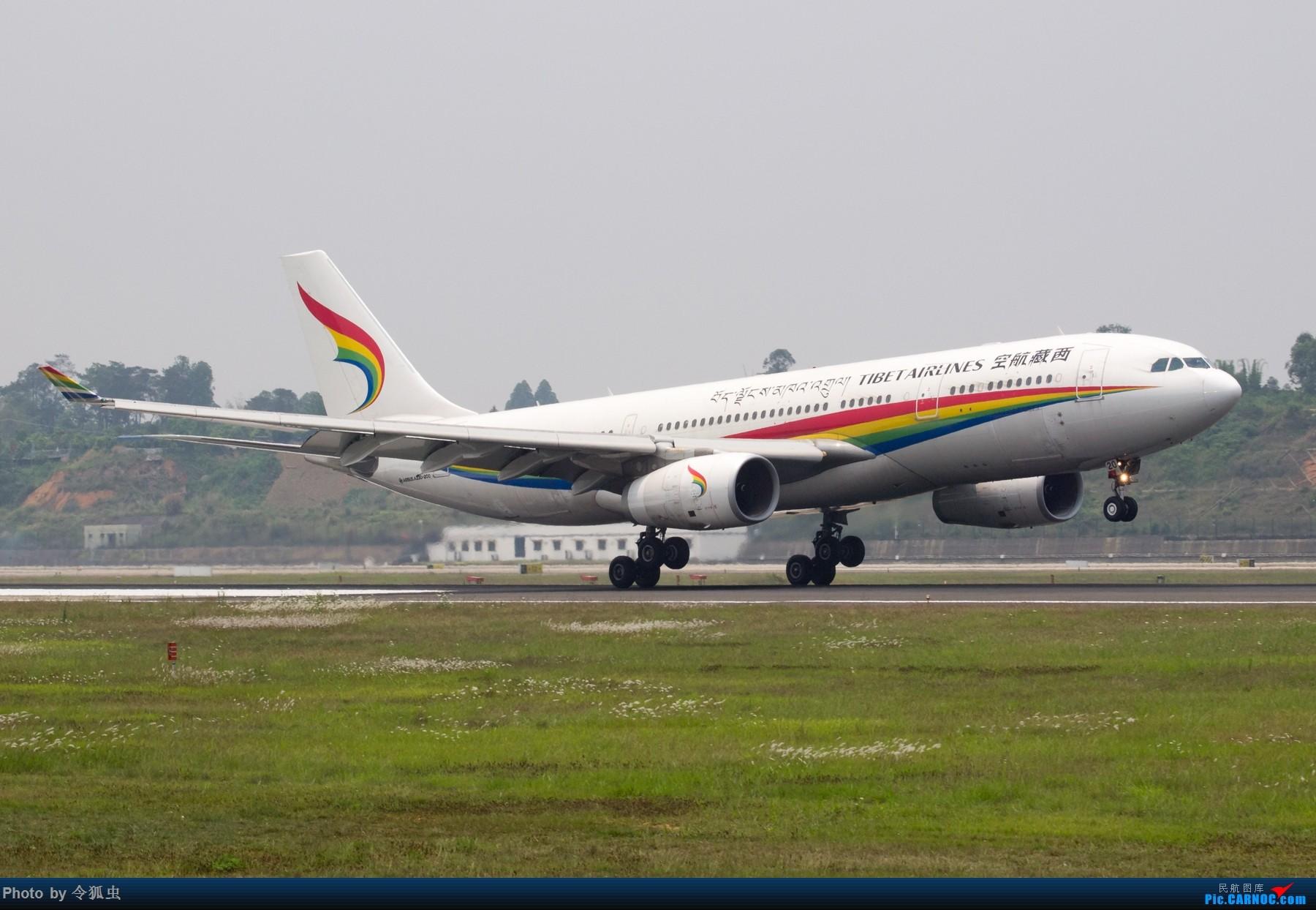 Re:[原创]西藏航空Airbus A330-200,B-8420组图。    中国成都双流国际机场