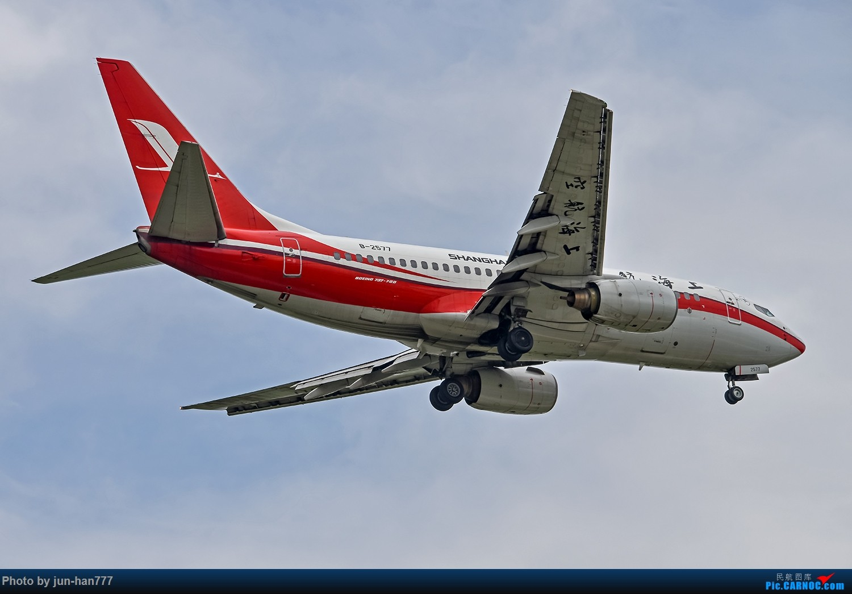 Re:好天PVG拍机 BOEING 737-700 B-2577