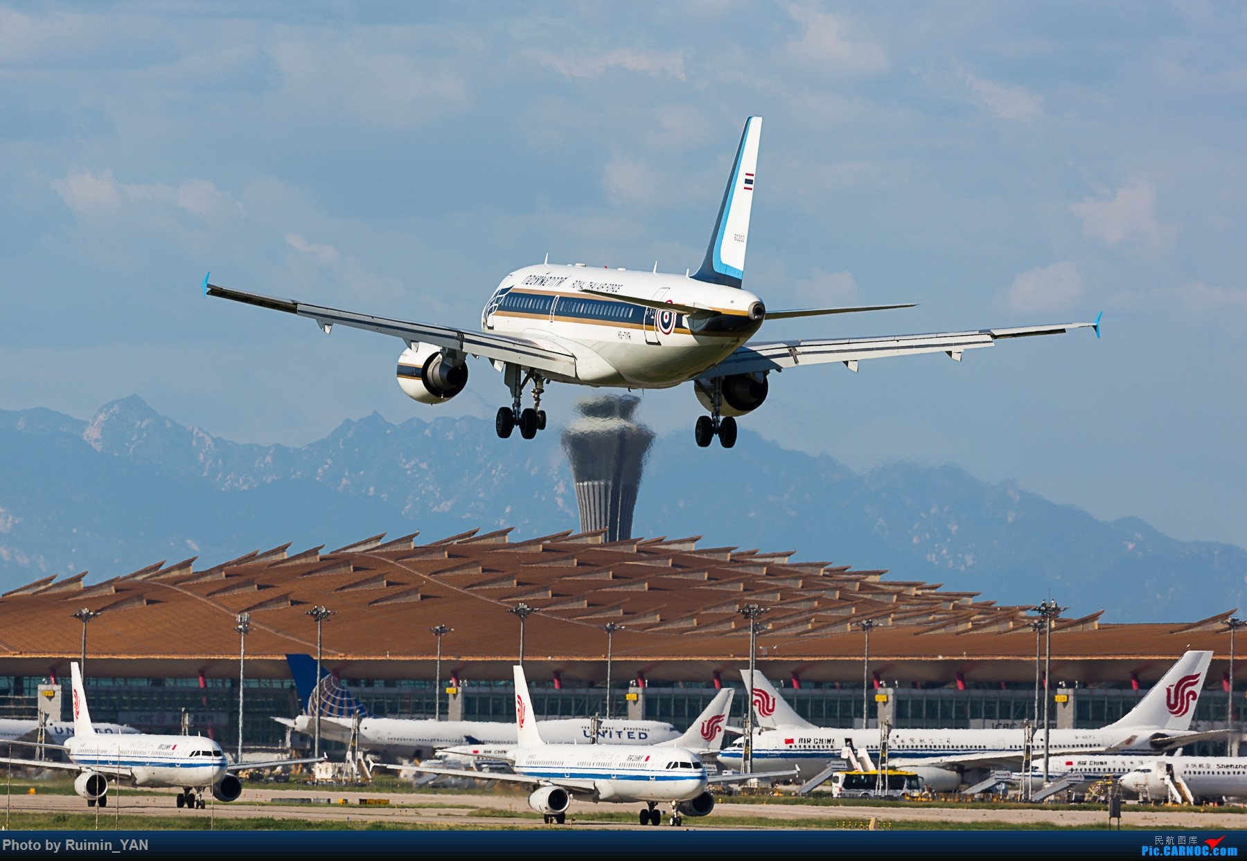 Re:【PEK】【砖机】泰国副总理兼国防部长巴维访华 泰国皇家空军(RTAF, Royal Thai Air Force) HS-TYR A319CJ AIRBUS A319-115CJ HS-TYR 中国北京首都国际机场