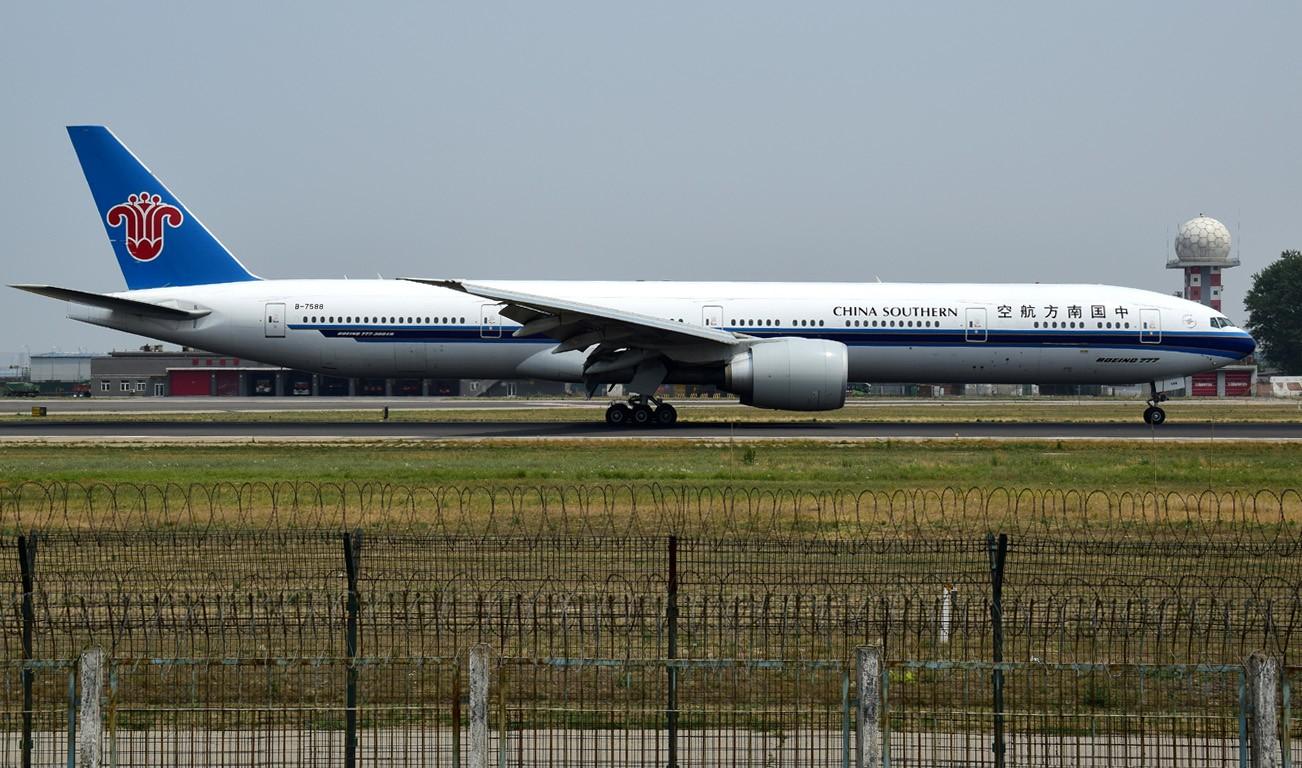 Re:[原创]天气不太好之十八右跑道 BOEING 777-300ER B-7588 中国北京首都国际机场