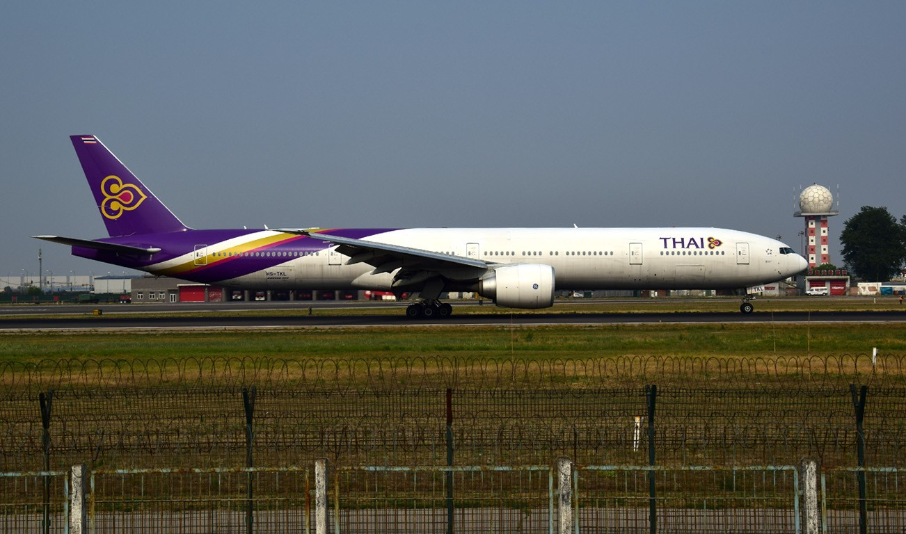 Re:[原创]天气不太好之十八右跑道 BOEING 777-300ER HS-TKL 中国北京首都国际机场