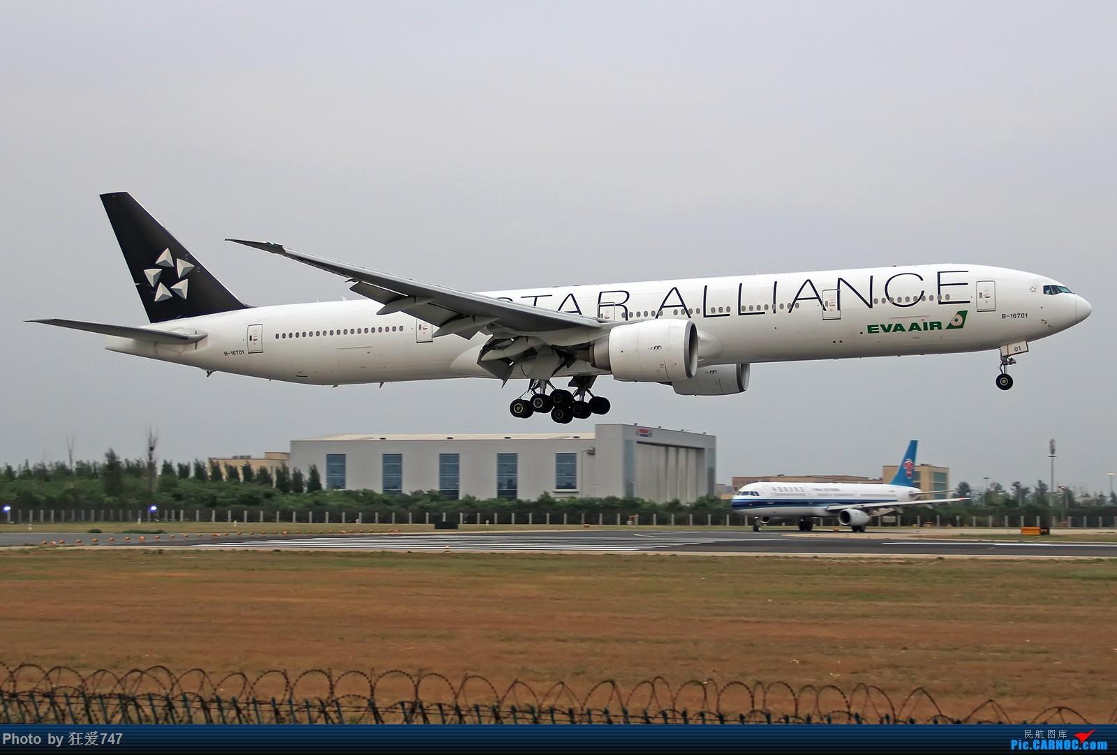 Re:长荣第一架星空联盟涂装777,也许是最后一次见到了。 BOEING 777-300ER B-16701 中国北京首都国际机场