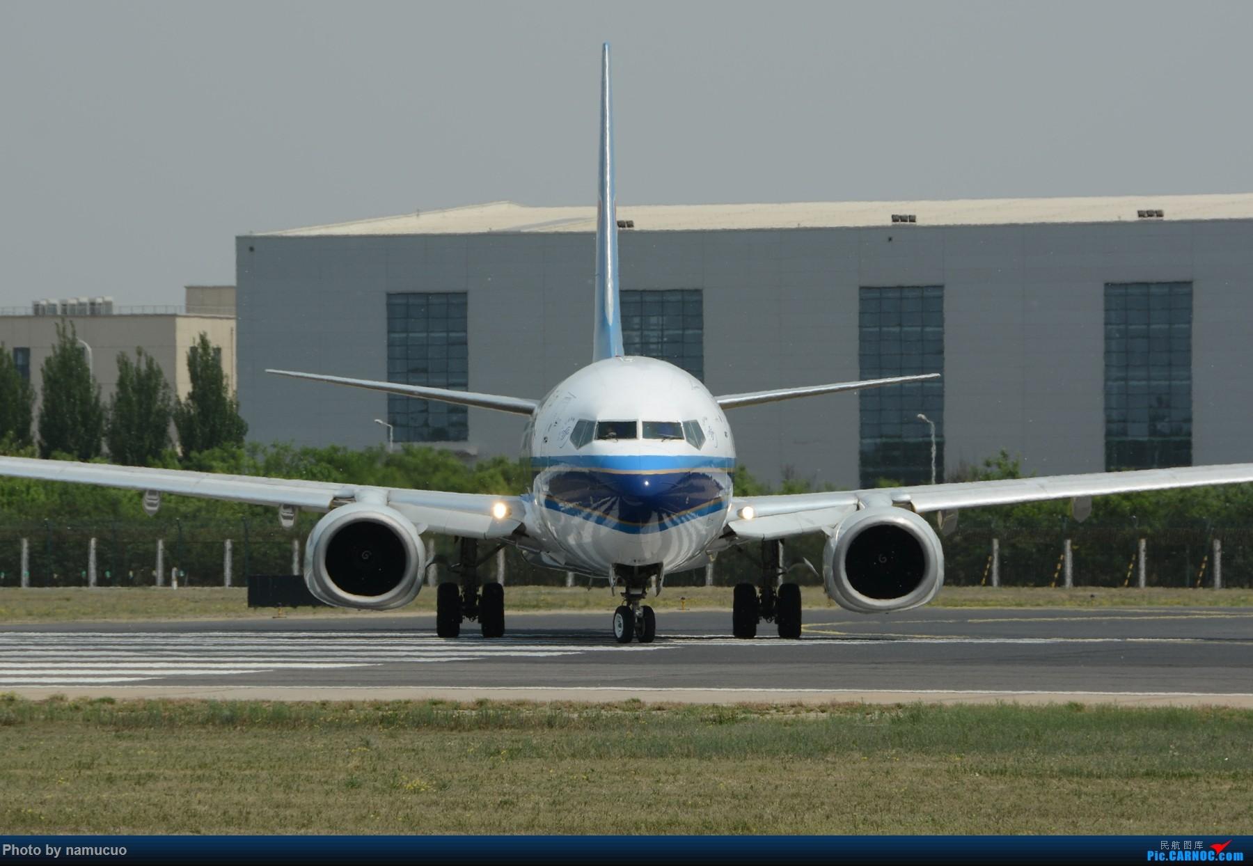 Re:[原创]【PEK】【专题】【正面照、大头照系列】比比谁最美(有个悲催的家伙等了半天返回了) BOEING 737-800 B-5128