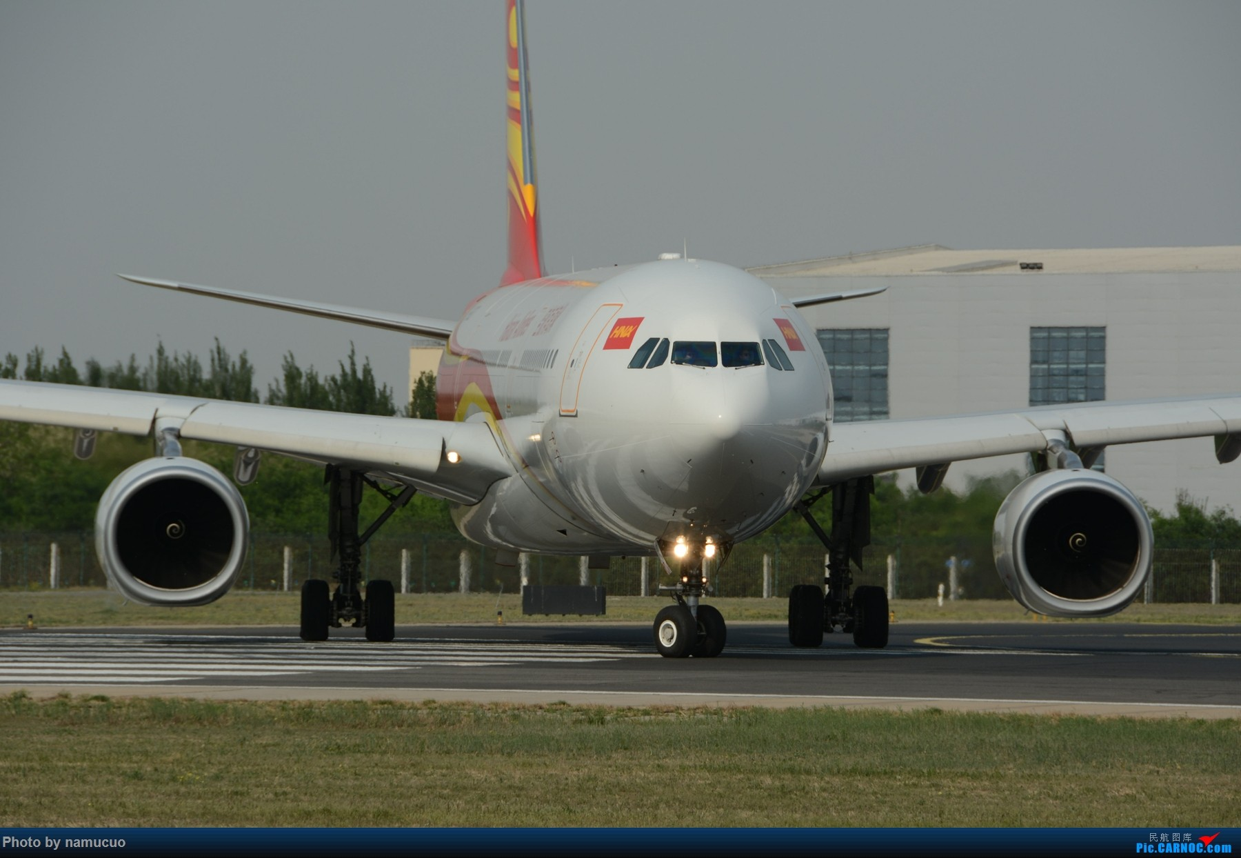 Re:[原创]【PEK】【专题】【正面照、大头照系列】比比谁最美(有个悲催的家伙等了半天返回了) AIRBUS A330-300 B-6527