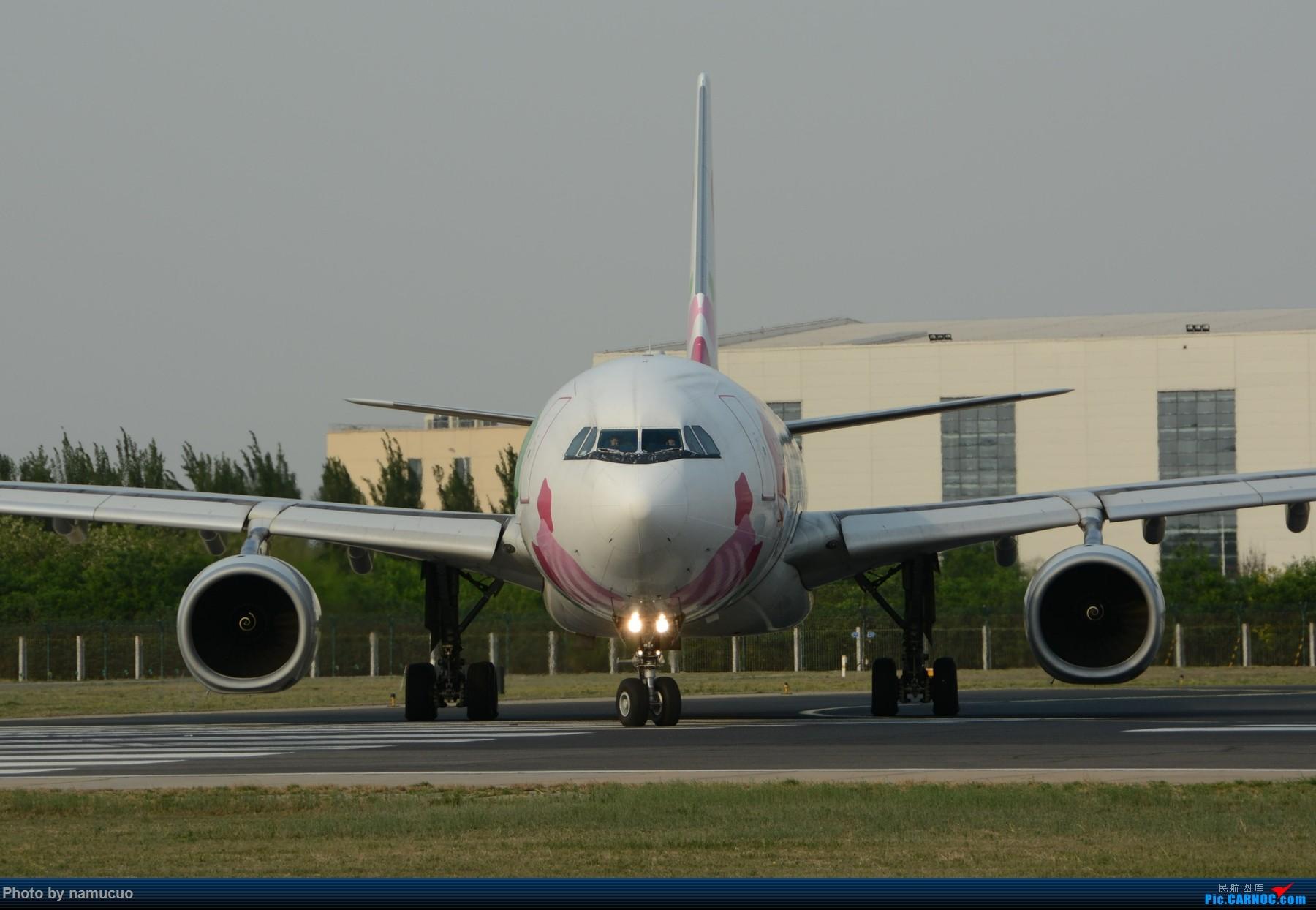 Re:[原创]【PEK】【专题】【正面照、大头照系列】比比谁最美(有个悲催的家伙等了半天返回了) AIRBUS A330-300 B-6129