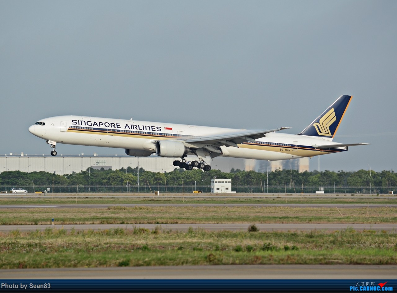 Re:[原创](PVG1280*) 浦东早班机 BOEING 777-300 9V-SYH 上海浦东国际机场