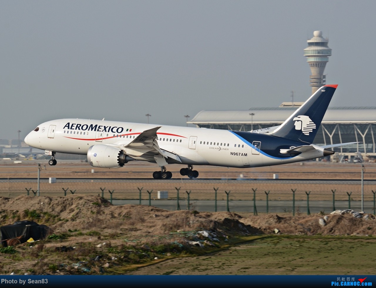 Re:[原创](PVG1280*) 浦东早班机 BOEING 787-8 N697AM 上海浦东国际机场