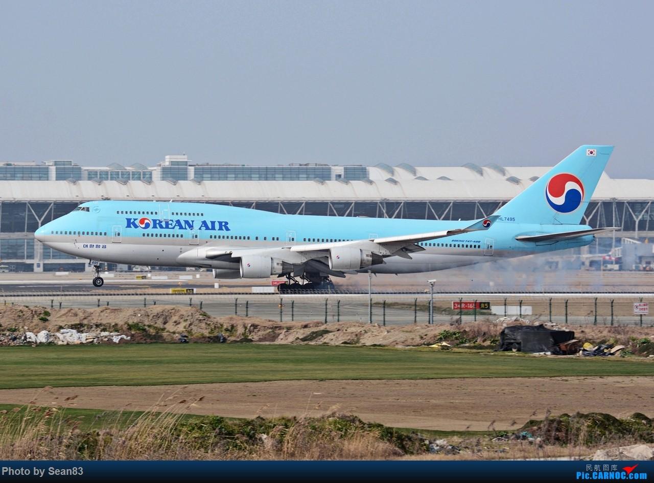 Re:[原创](PVG1280*) 浦东早班机 BOEING 747-400 HL7495 上海浦东国际机场