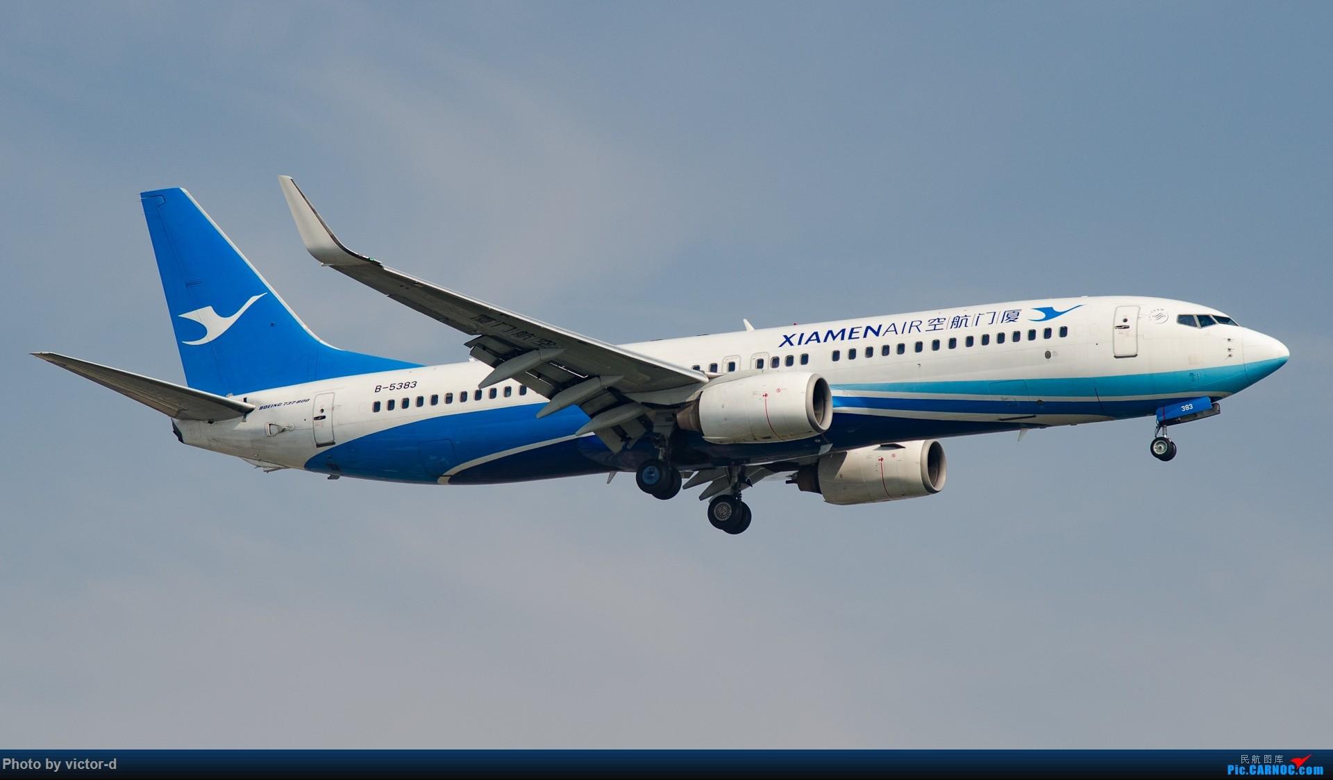 Re:[原创]【上海】拍机记录帖-记录这些年拍到的飞机 BOEING 737-800 B-5383 中国上海虹桥国际机场