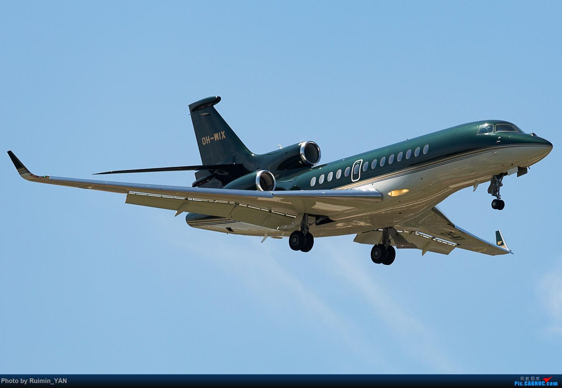 【PEK】【砖机】【公务机】未知领导访华 Jetflite OH-WIX Dassault Falcon 7X DASSAULT FALCON 7X OH-WIX 中国北京首都国际机场