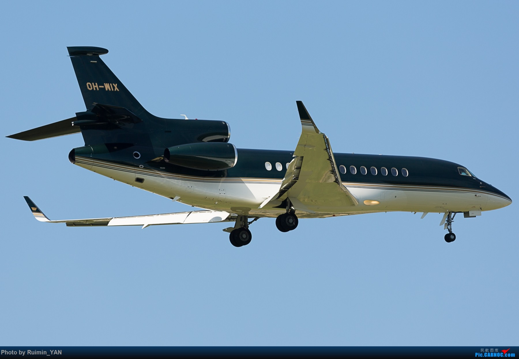 Re:[原创]【PEK】【砖机】【公务机】未知领导访华 Jetflite OH-WIX Dassault Falcon 7X DASSAULT FALCON 7X OH-WIX 中国北京首都国际机场