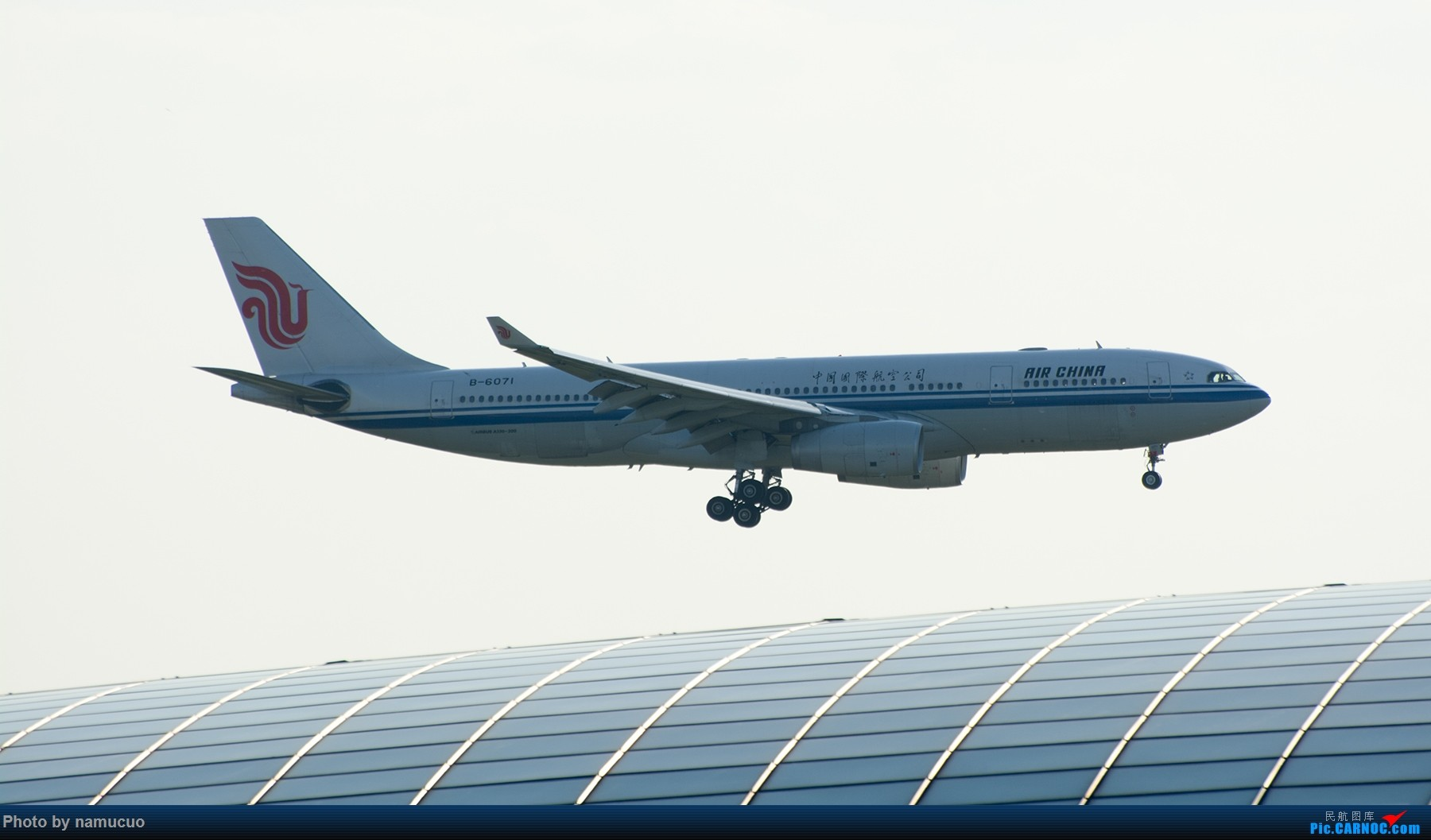 Re:[原创]【PEK】【专题】降落在穹顶之上(二)这次没有柳絮 AIRBUS A330-200 B-6071