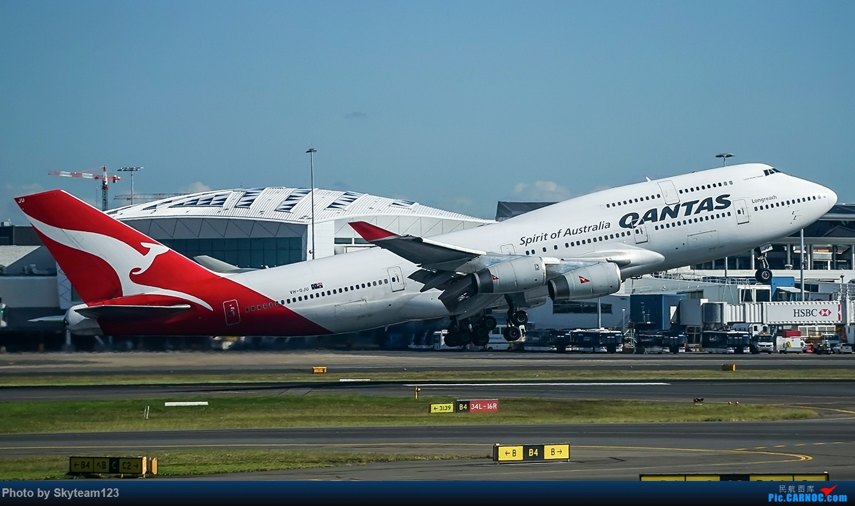 Re:[原创]SYD 杂图几张 T2航站楼 BOEING 747-400 VH-OJU 澳大利亚悉尼金斯福德·史密斯机场