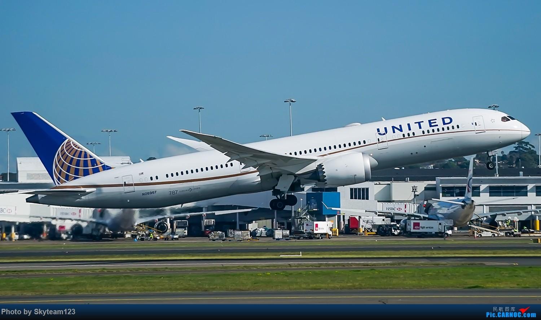 Re:[原创]SYD 杂图几张 T2航站楼 BOEING 787-9 N26967 澳大利亚悉尼金斯福德·史密斯机场